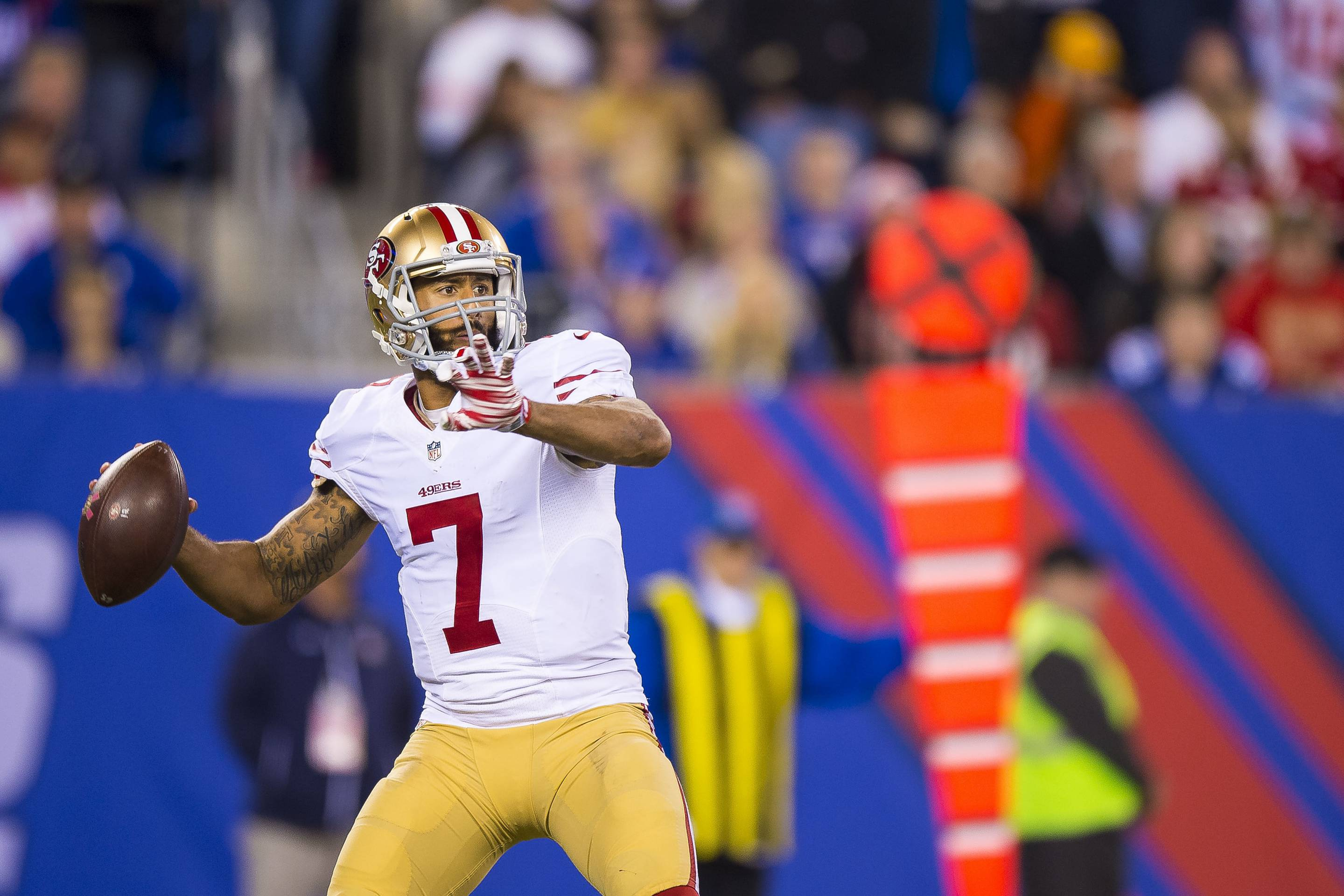 NFL: OCT 11 49ers at Giants