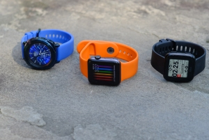 smartwatches from Samsung, Apple and Fitbit