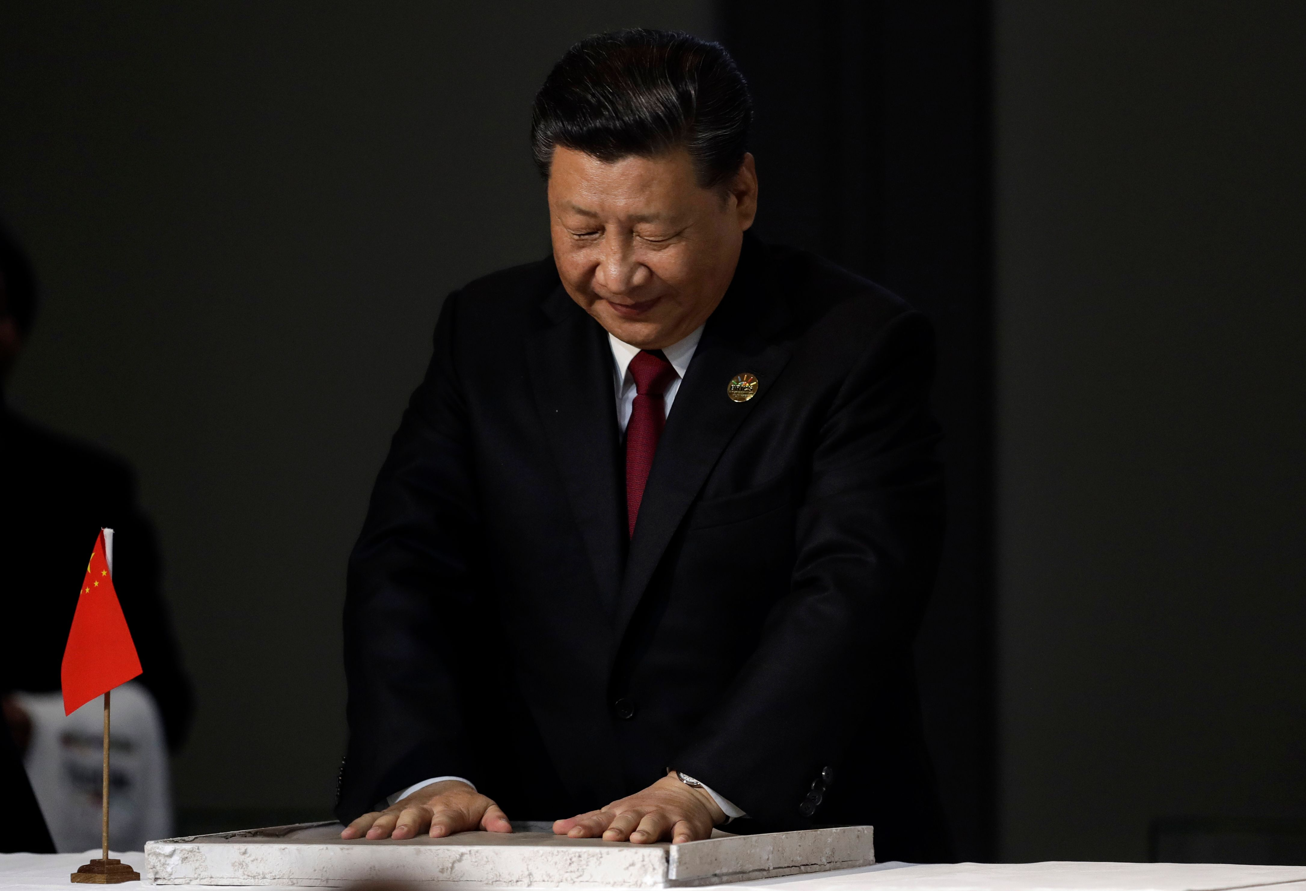 China's President Xi Jinping in South Africa