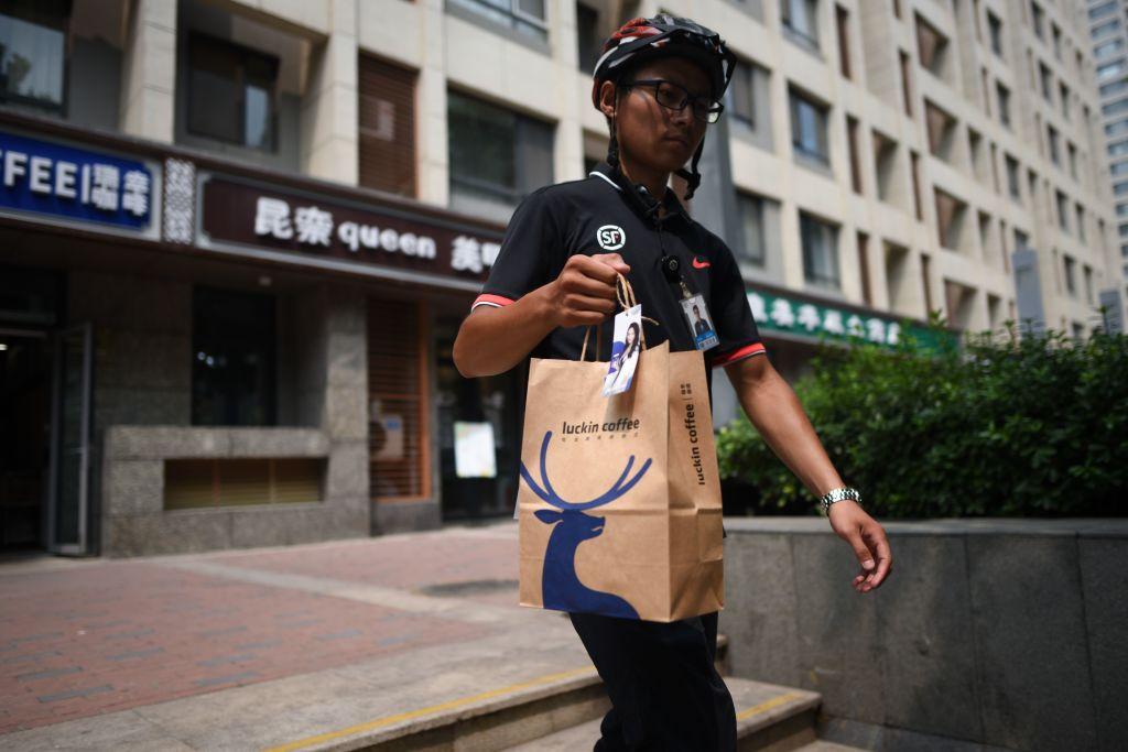 CHINA-ALIBABA-STARBUCKS-FOOD-DRINK-RETAIL