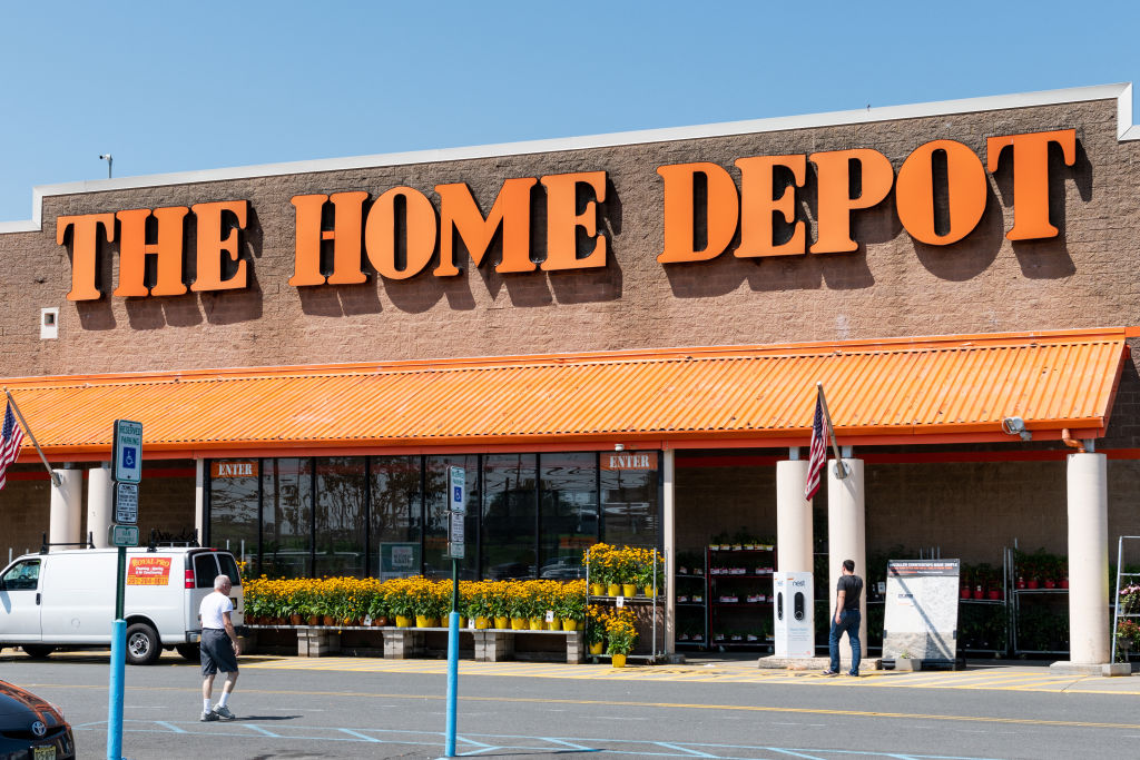 Home Depot store in Totowa, New Jersey