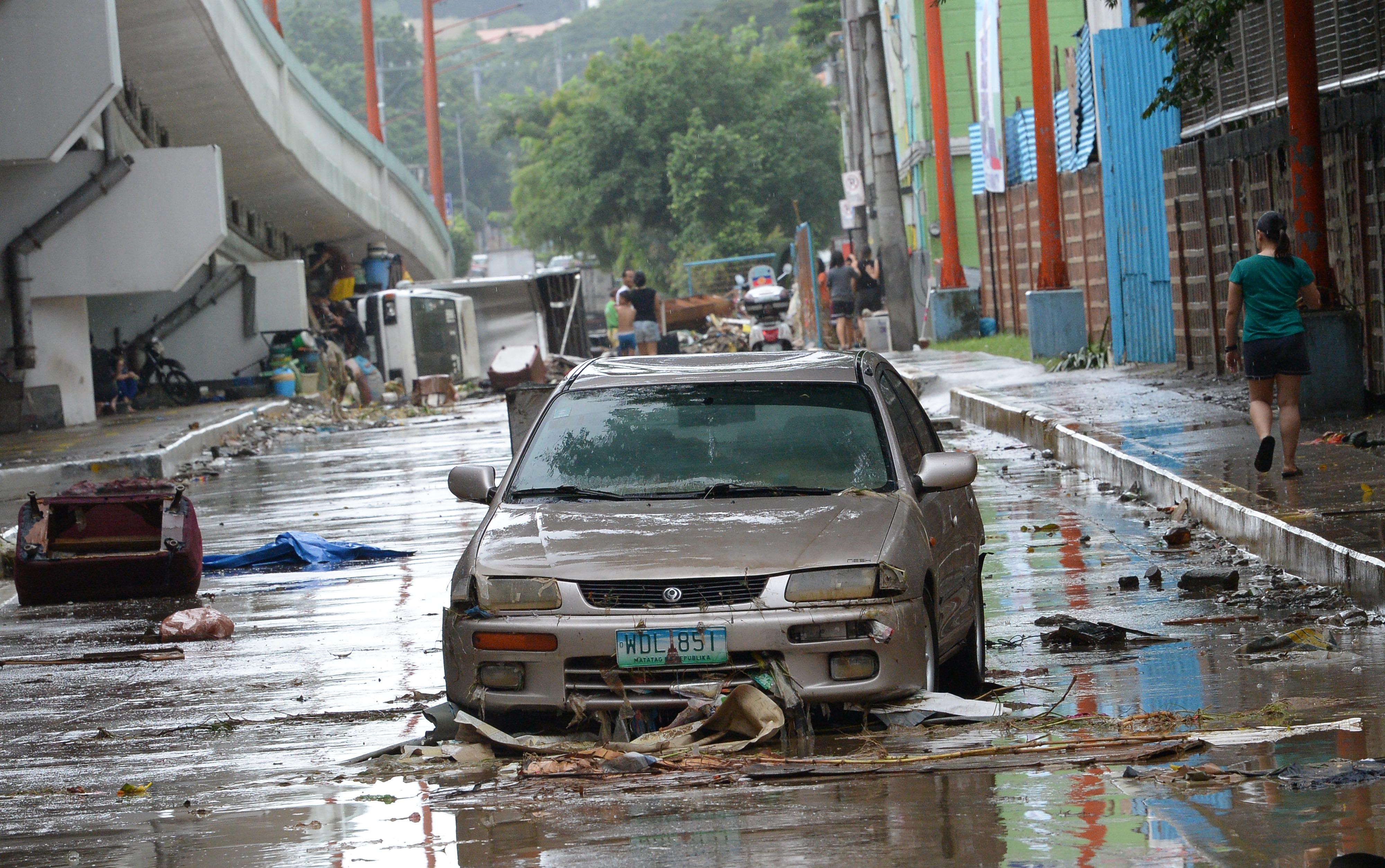 PHILIPPINES-WEATHER-FLOOD
