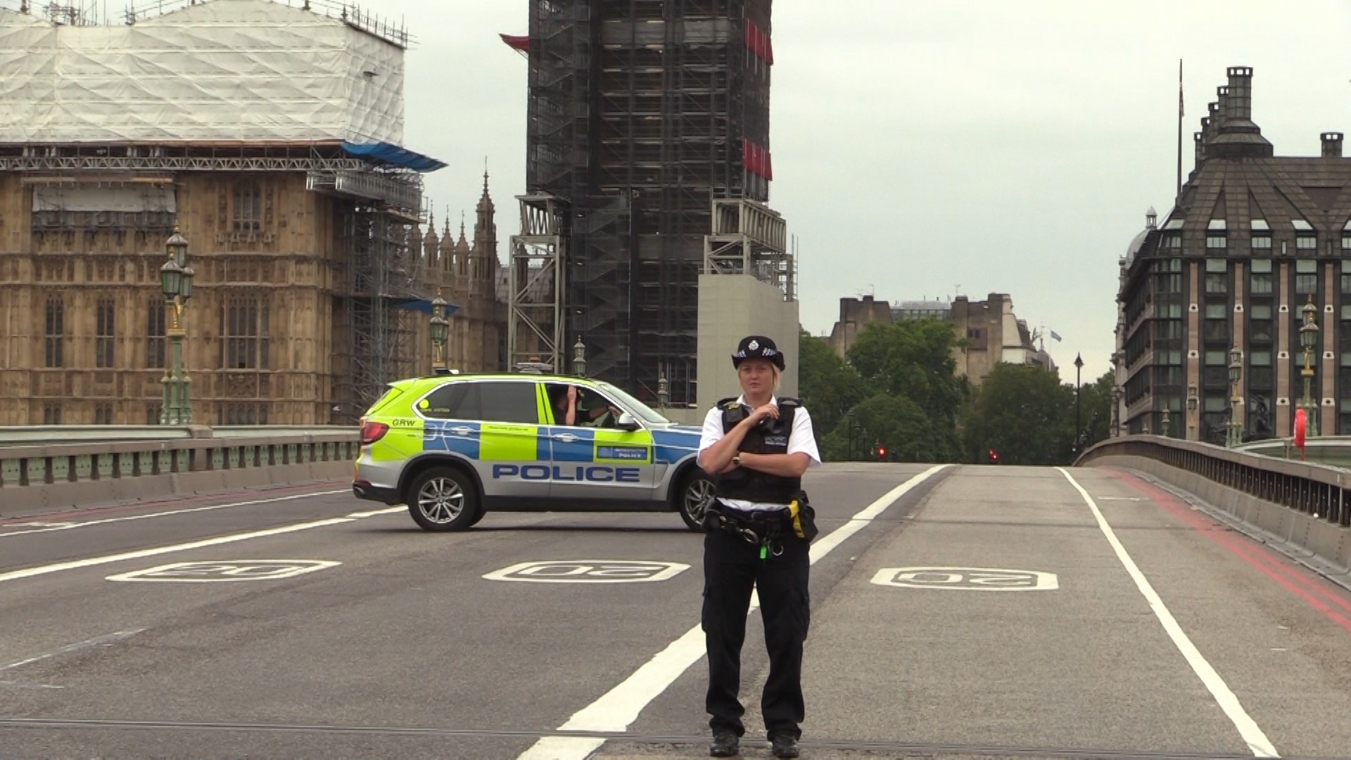 Security measures after the Westminster car crash
