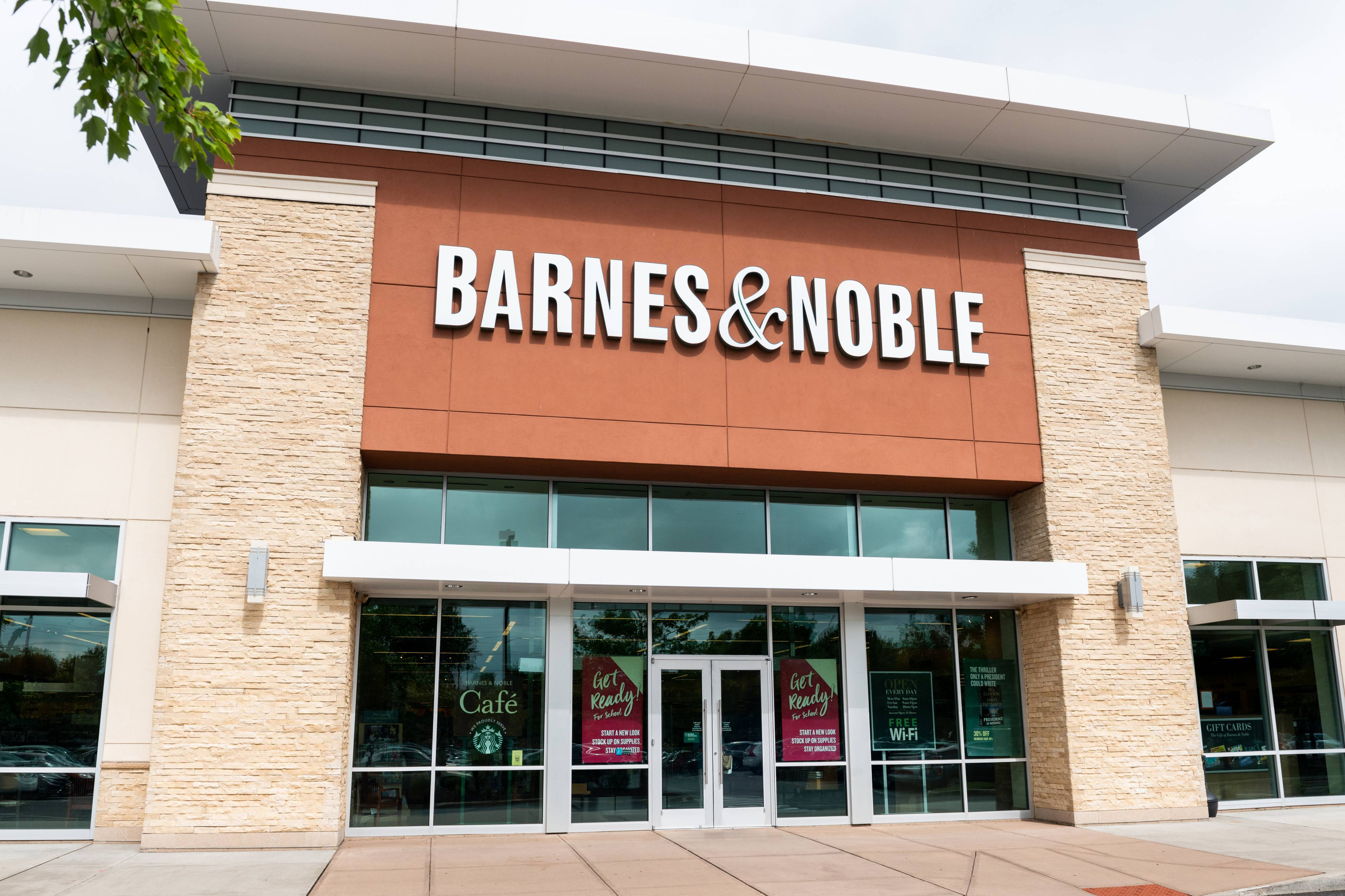 Barnes & Noble store in Princeton, New Jersey