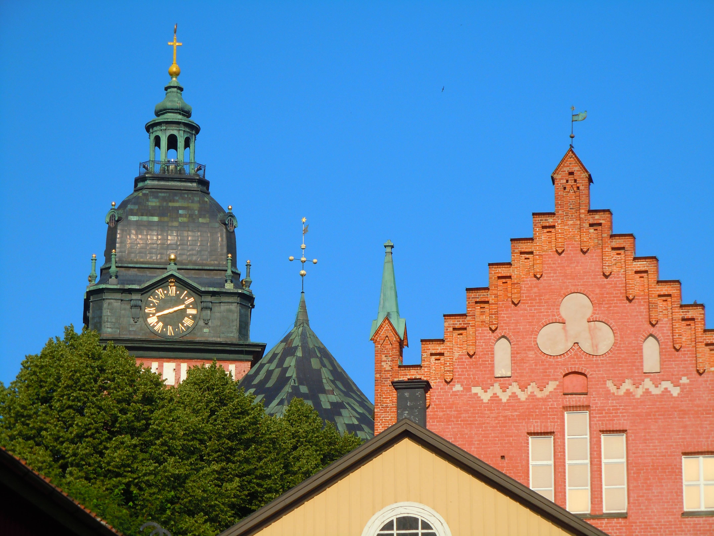 Strängnäs - der Turm des Domes