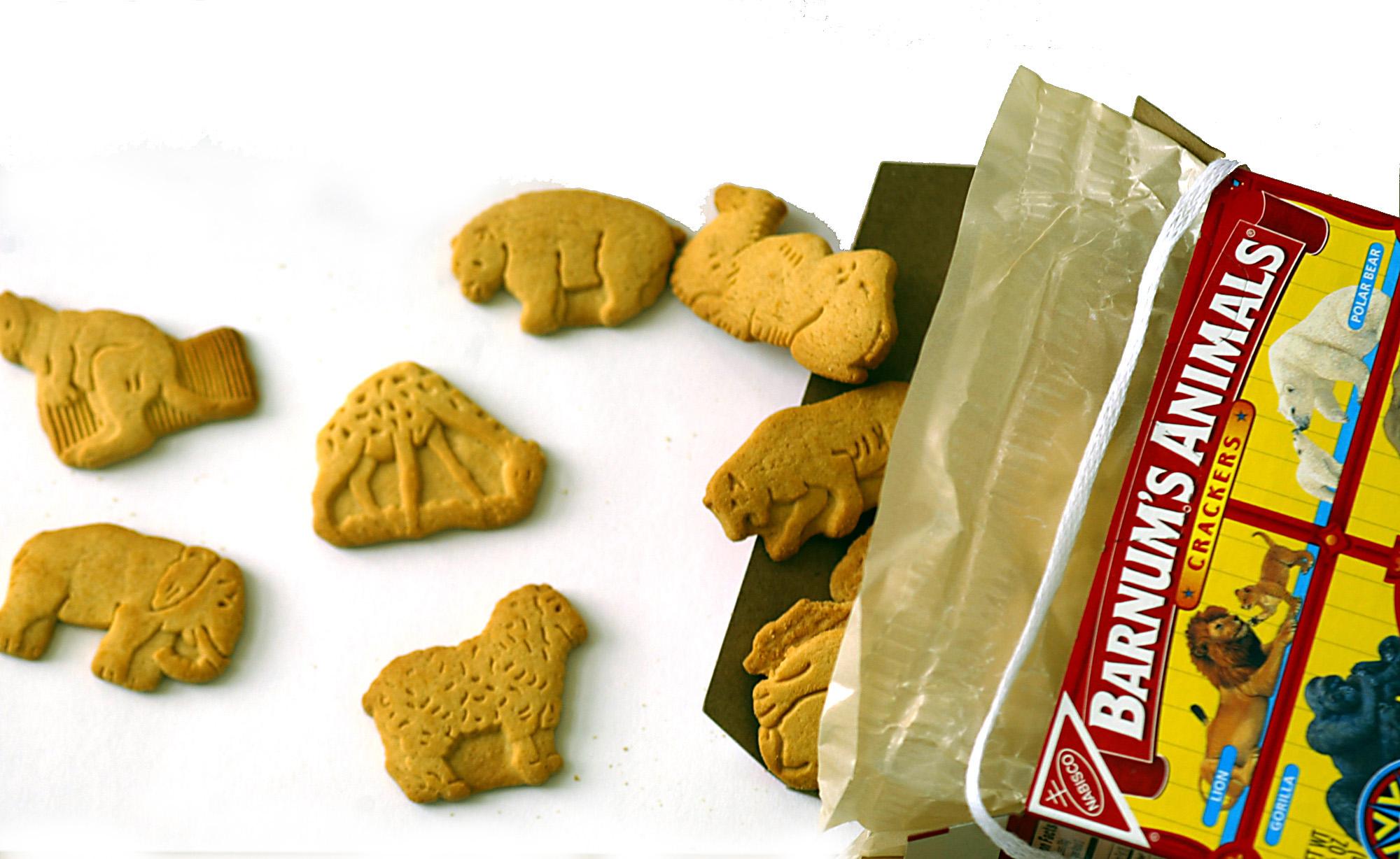 Nabisco animal cracker redesign