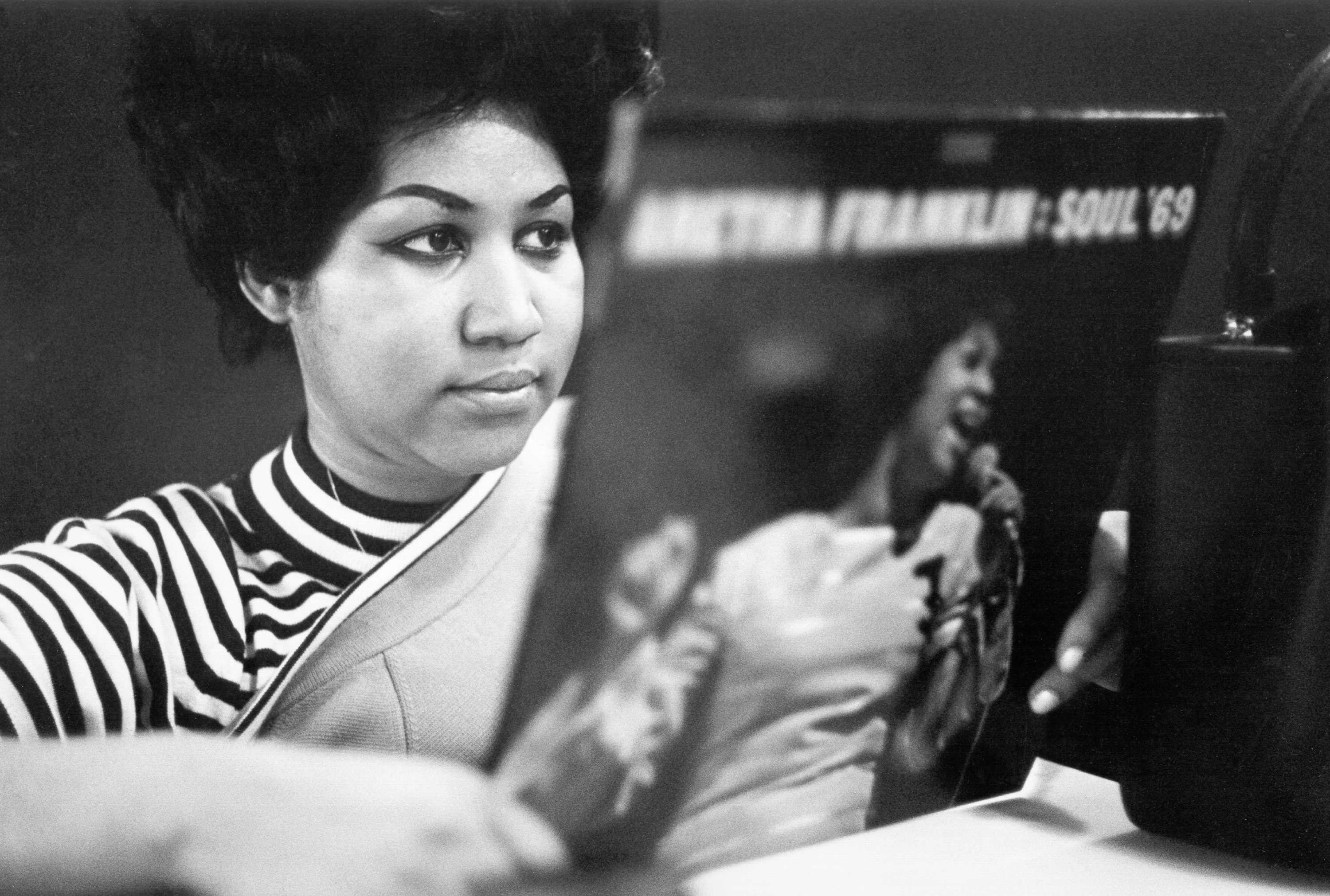 Queen Of Soul Recording In New York