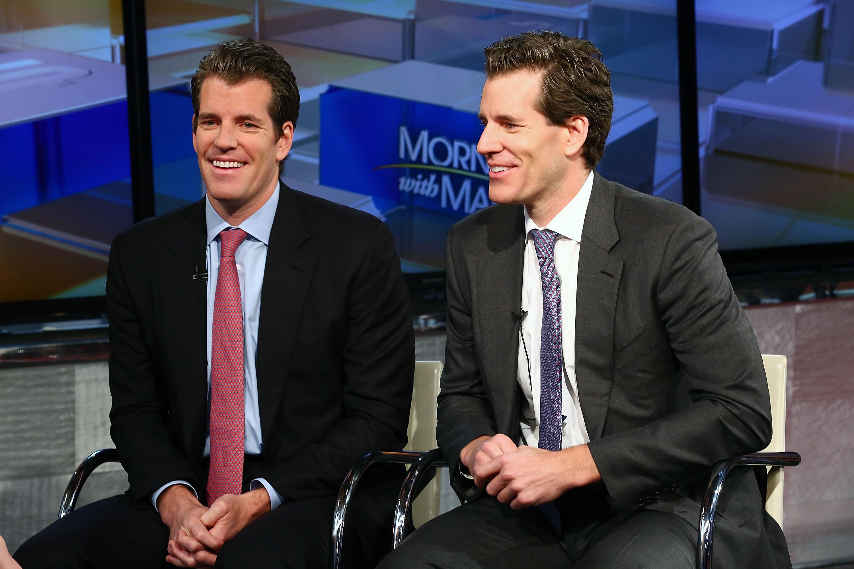 "The Winklevoss Twins Visit FOX Business' ""Wall Street Week"""
