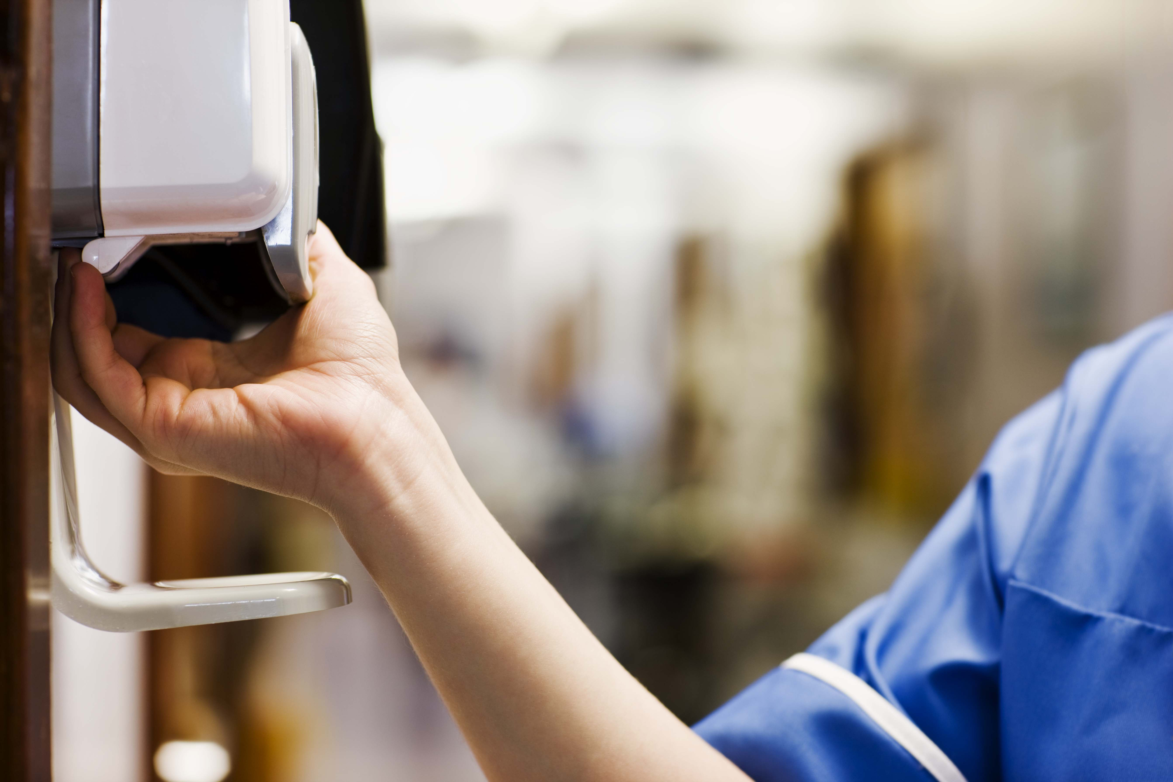 Hand sanitizer bacteria tolerance