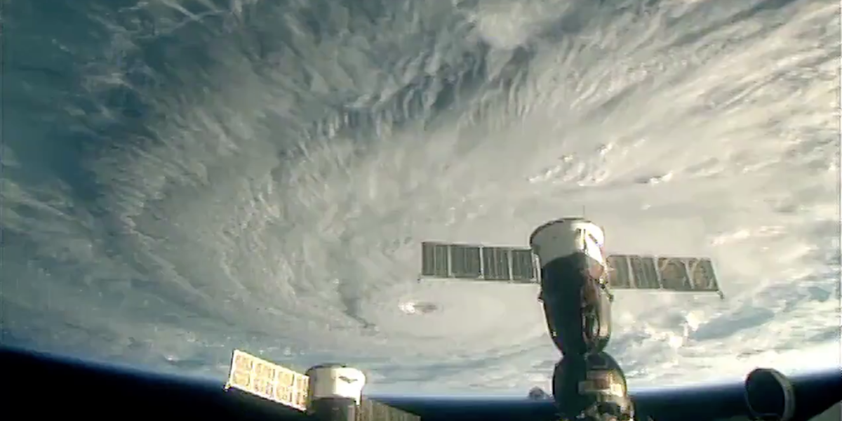 Hurricane Lane from Space: A View from the International Space Station