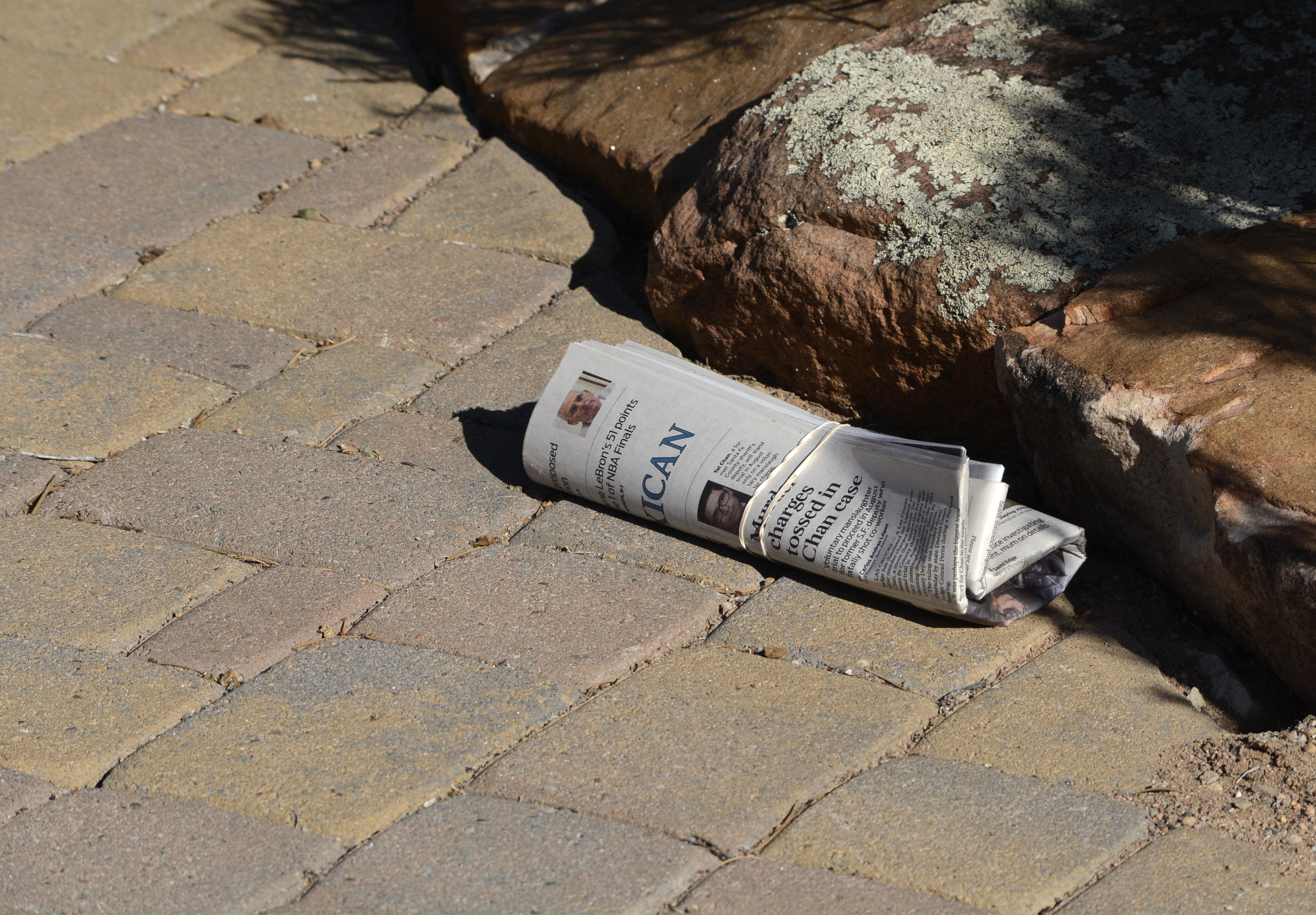 Newspaper home delivery