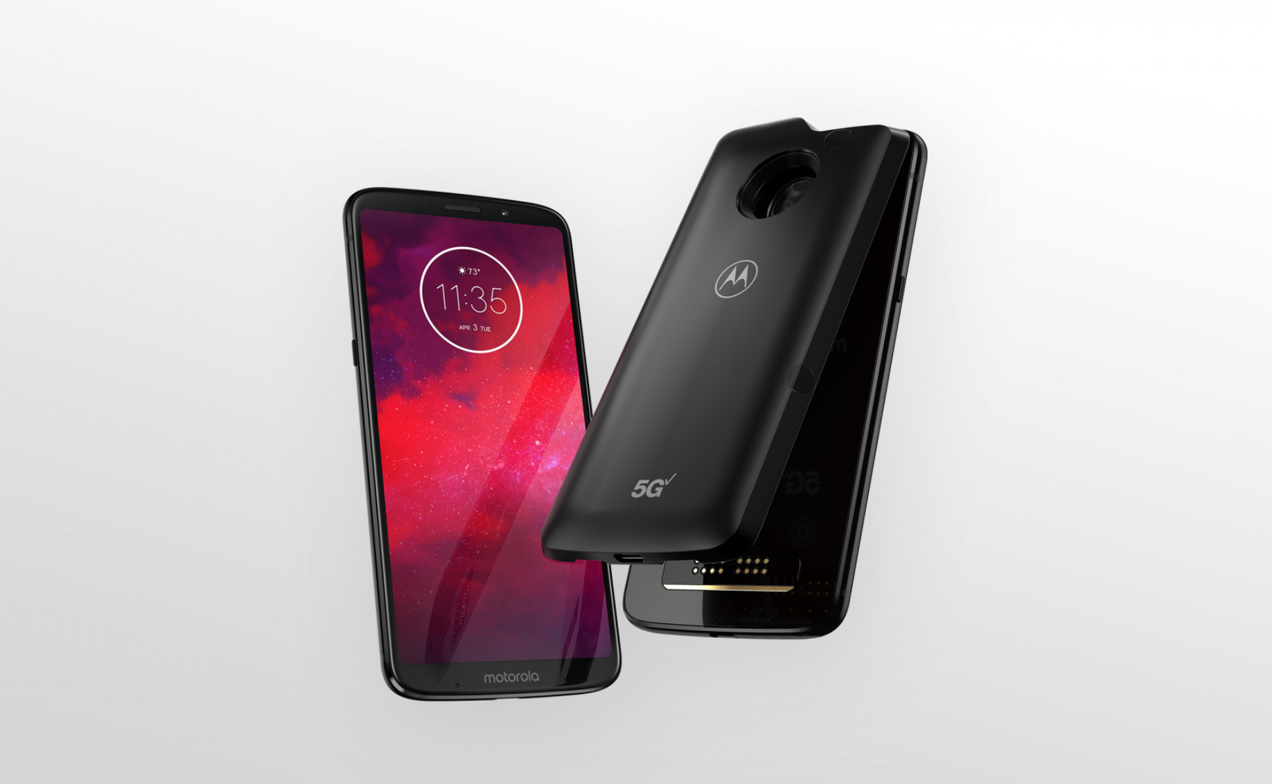 Motorola's new Z3 smartphone and a 5G add-on module