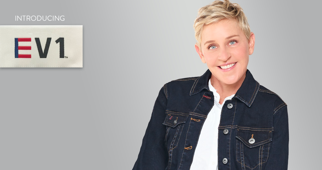 Walmart is launching a collection of clothing with TV star Ellen DeGeneres.