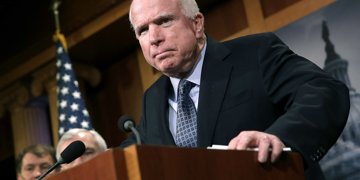 Stan McChrystal: John McCain Took No B.S.—and He Made Us All Better for It