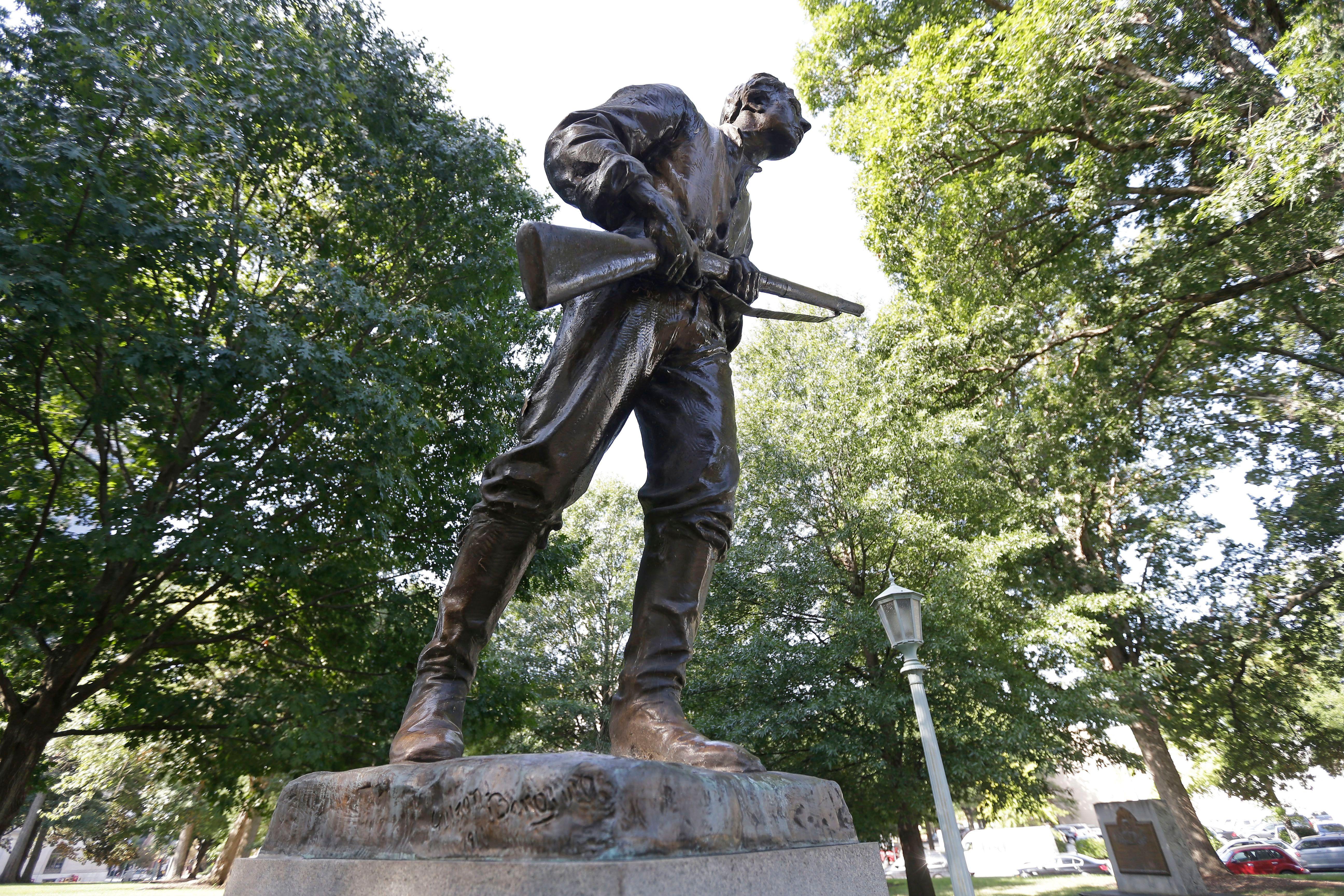 Confederate Monuments North Carolina, Raleigh, USA - 19 Sep 2017