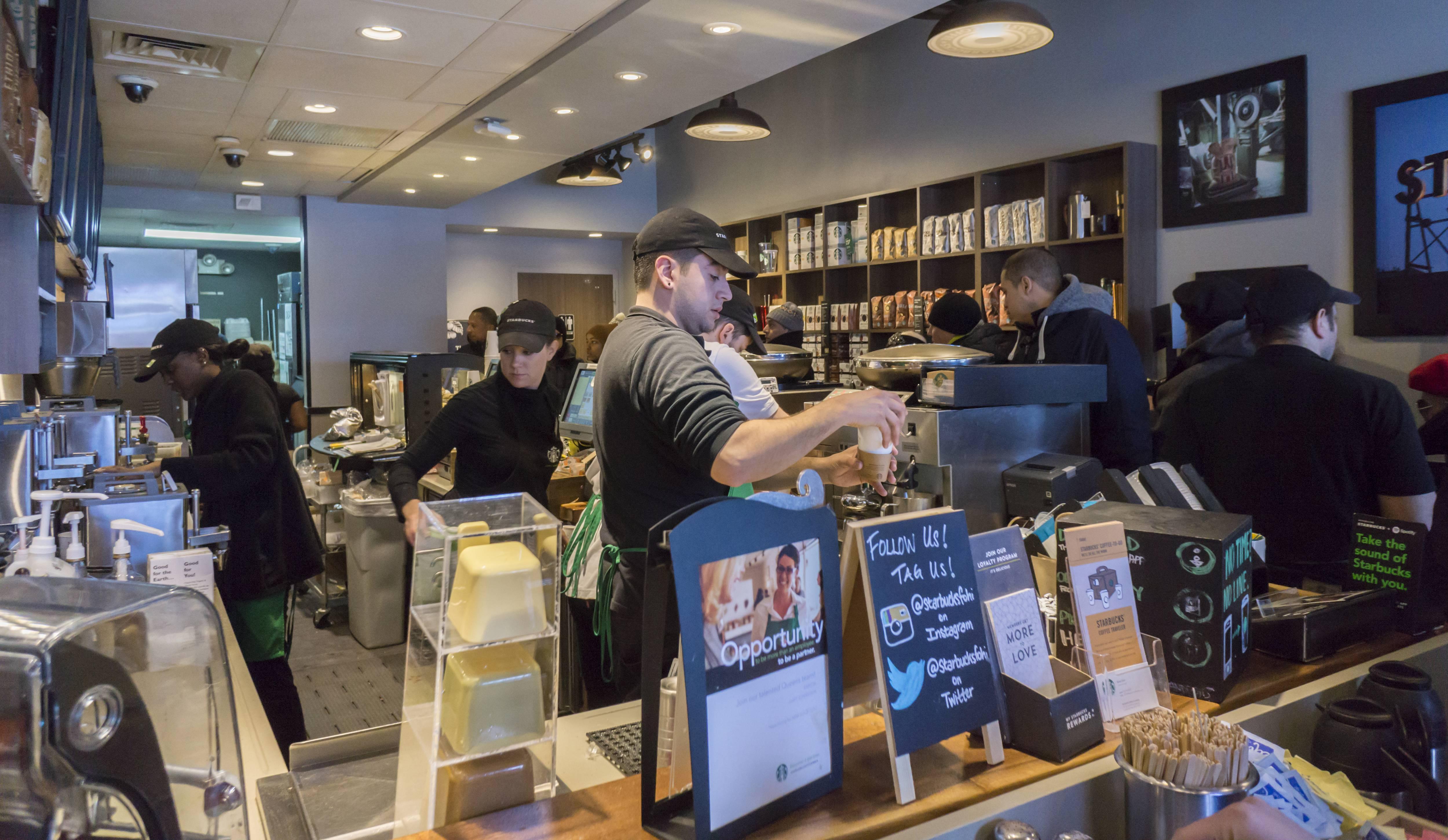 Starbucks in New York