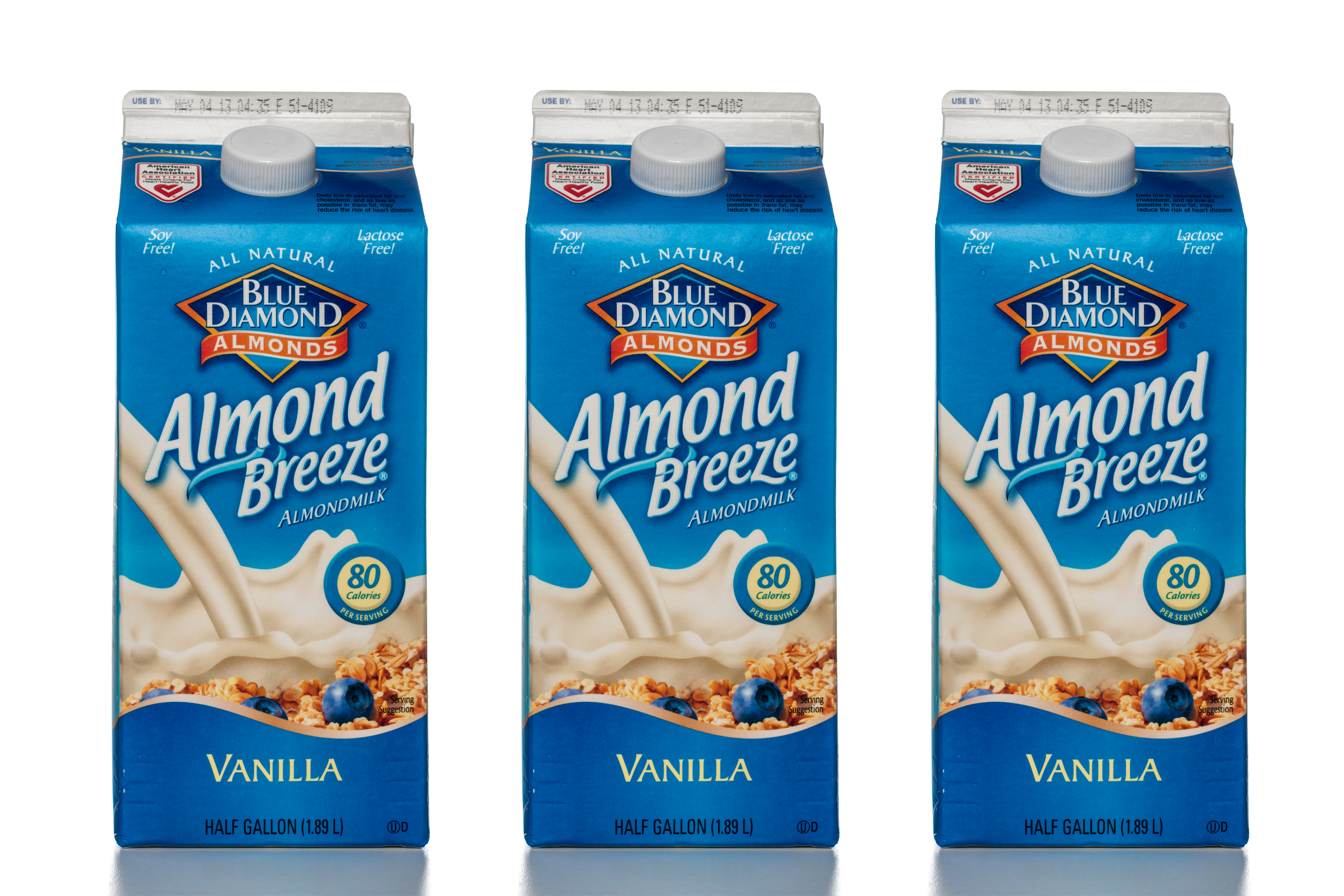 Almond Breeze Almond Milk Recalled Because It Might Contain
