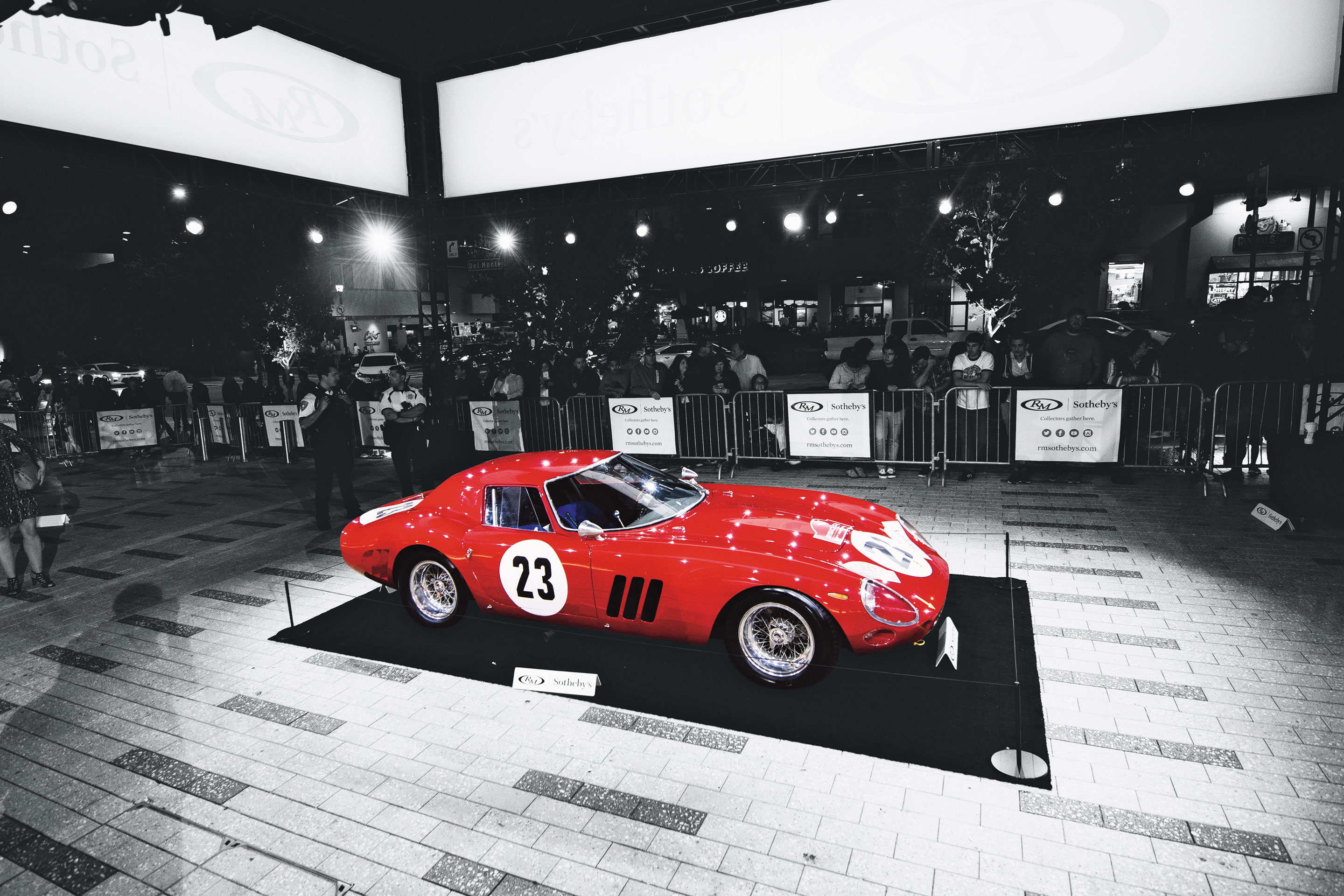 1962 Ferrari 250 GTO  SOLD for $48.4 million