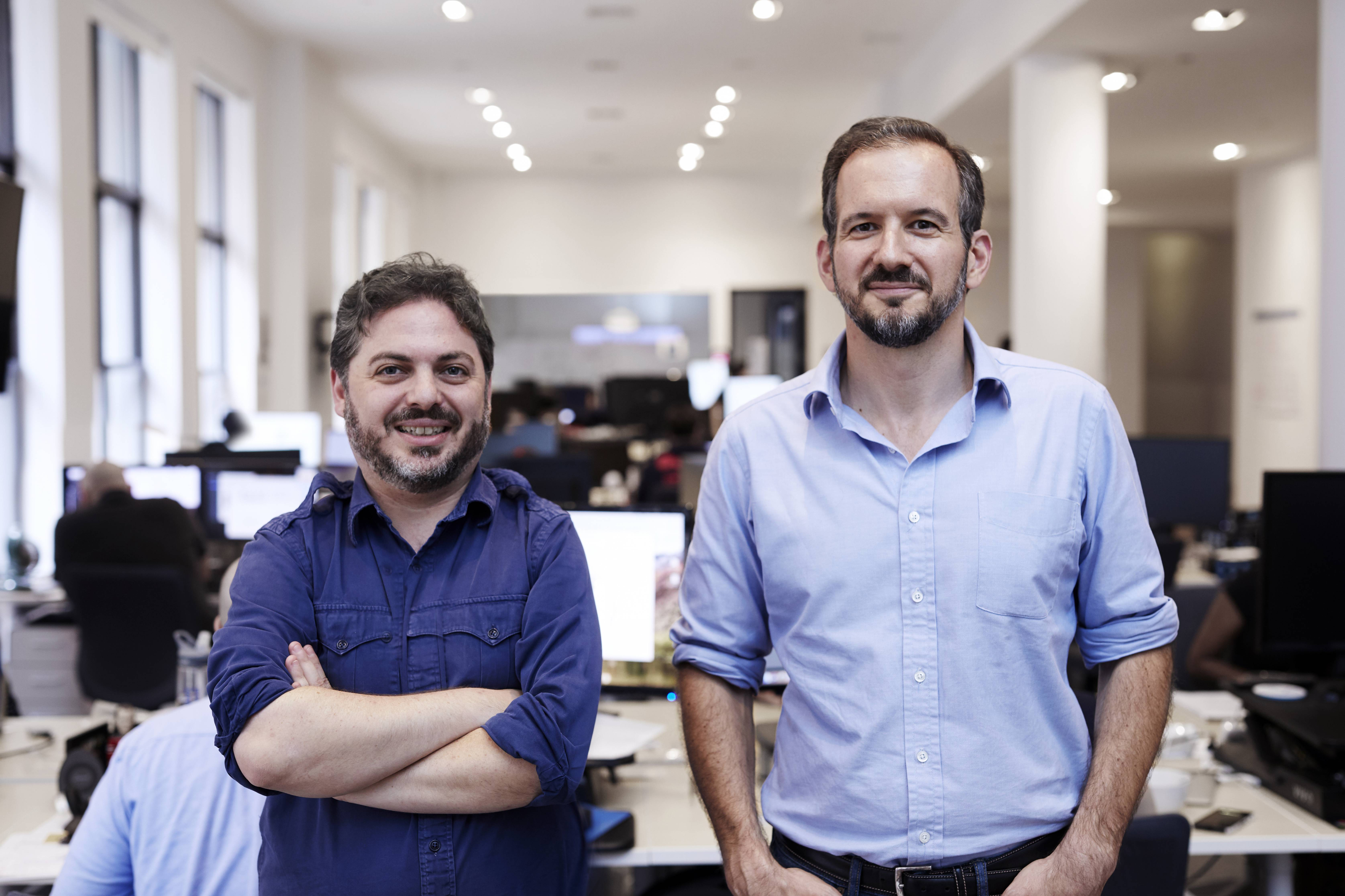 Bread co-founder and CEO Josh Abramowitz (right) and co-founder and CTO Daniel Simon (left)