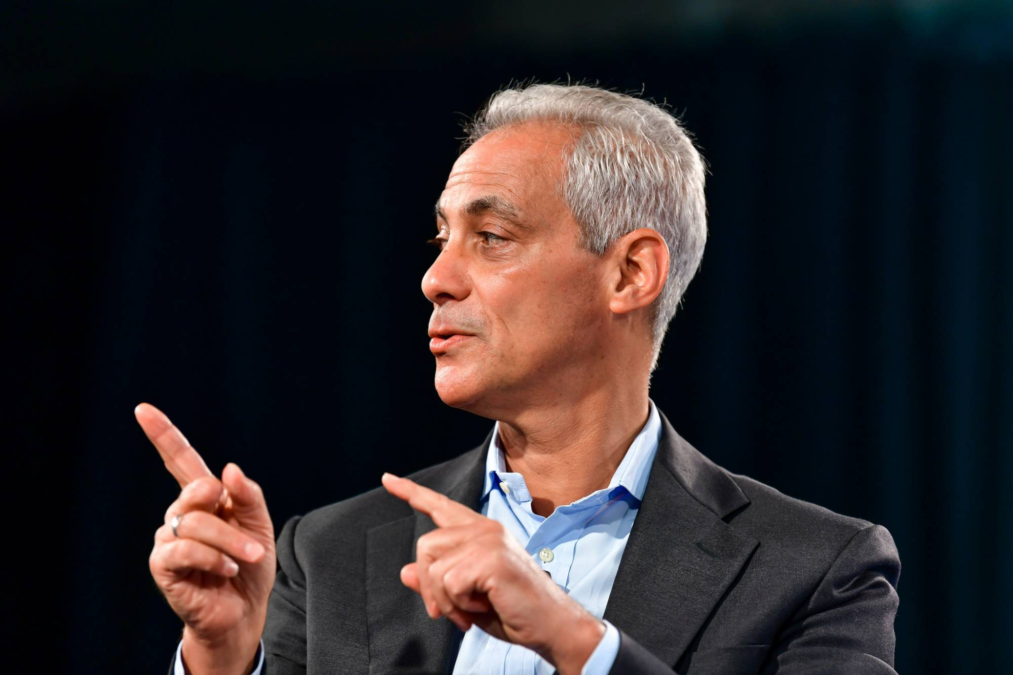 Chicago Mayor Rahm Emanuel at Fortune's Brainstorm Reinvent conference.