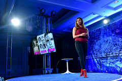EMOTION ARTIFICIAL INTELLIGENCE: THE HERE AND NOW | Dr. Rana el Kaliouby, Co-founder and CEO, Affectiva at Brainstorm Reinvent in Chicago, Illinois.