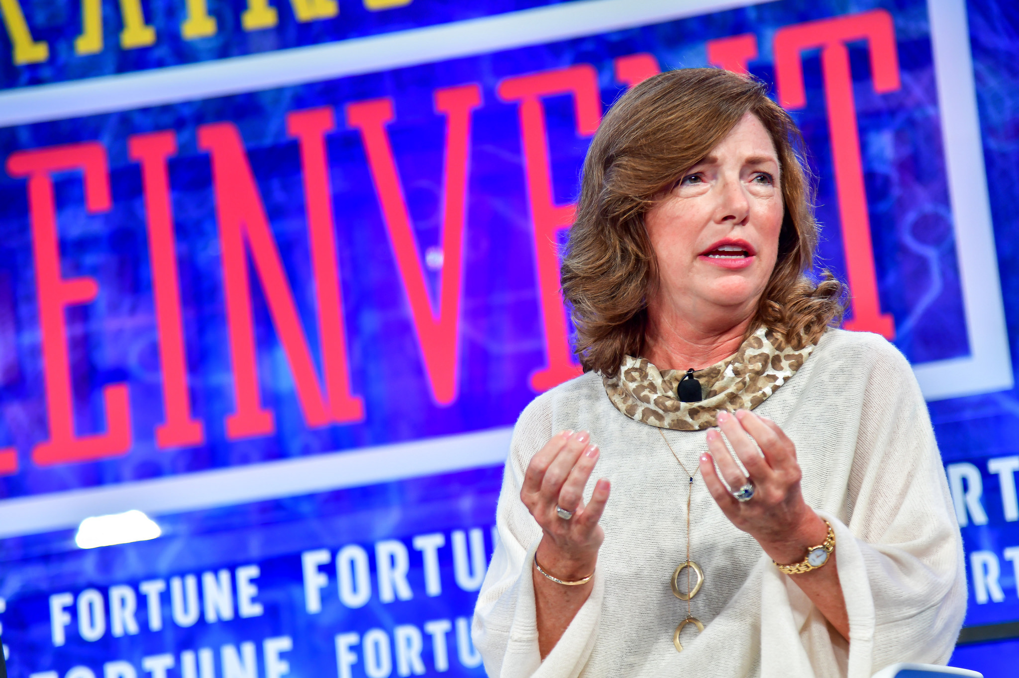 Siemens U.S. CEO Barbara Humpton at the Fortune Brainstorm Reinvent Conference in Chicago on Sept. 24, 2018.