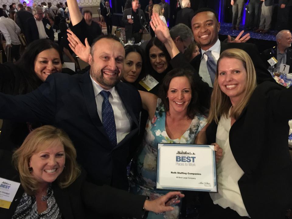 Best Medium Companies 2018-Roth Staffing Companies