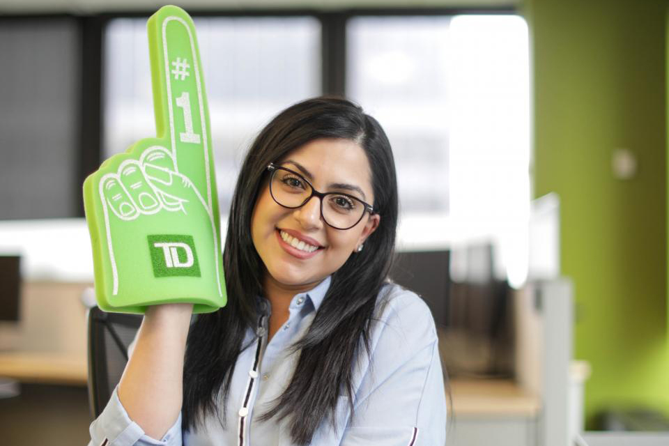 Best Large Workplaces for Women 2018_TD Bank