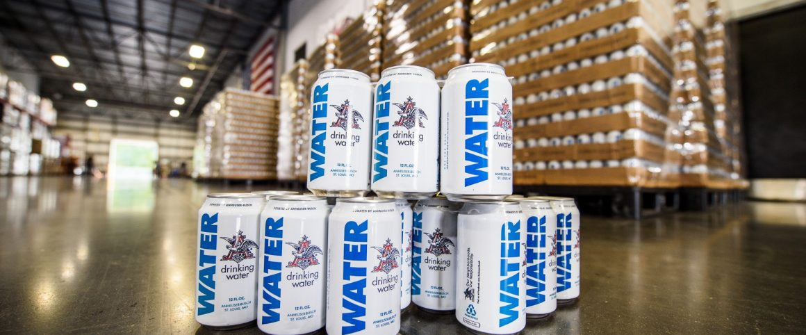budweiser water donations hurricane florence