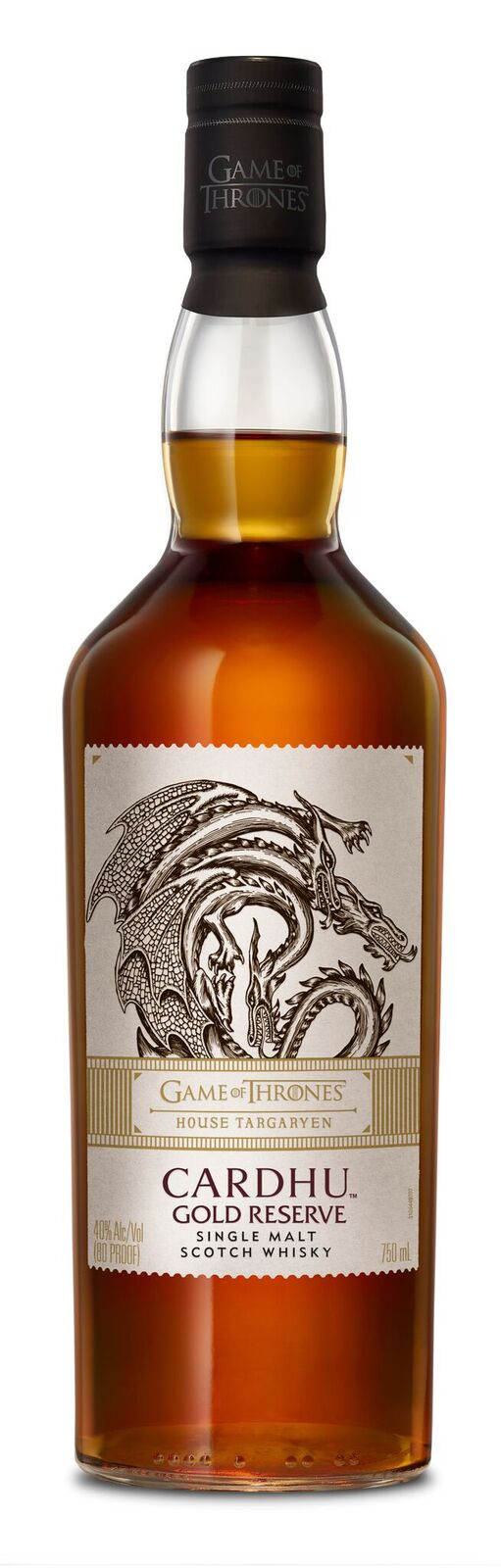 Game of Thrones House Targaryen— Cardhu Gold Reserve