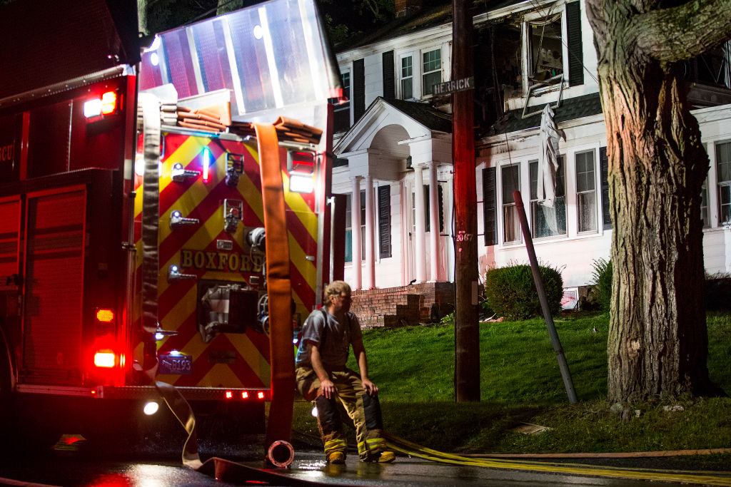 Dozens Of Gas Explosions Rock Massachusetts Towns