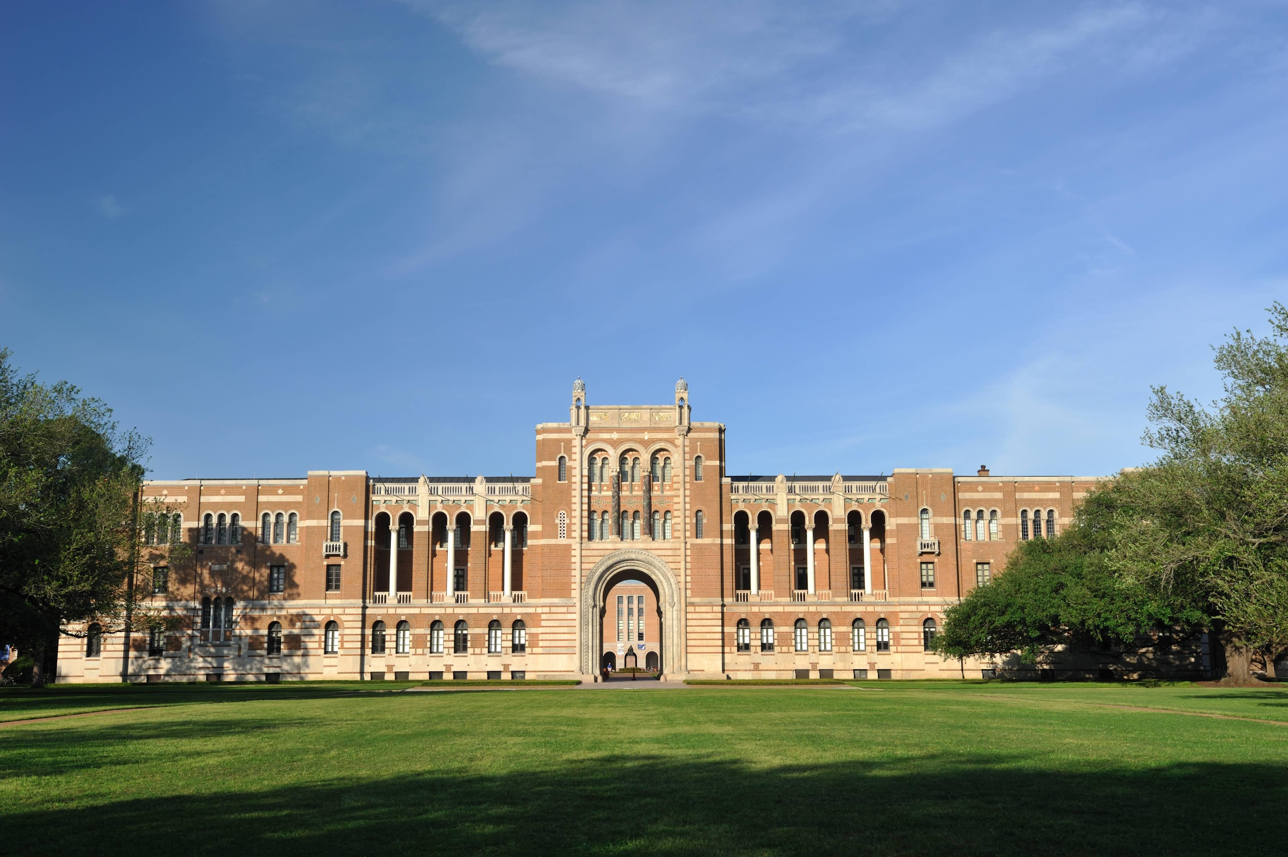 Lovett Hall in Rice University