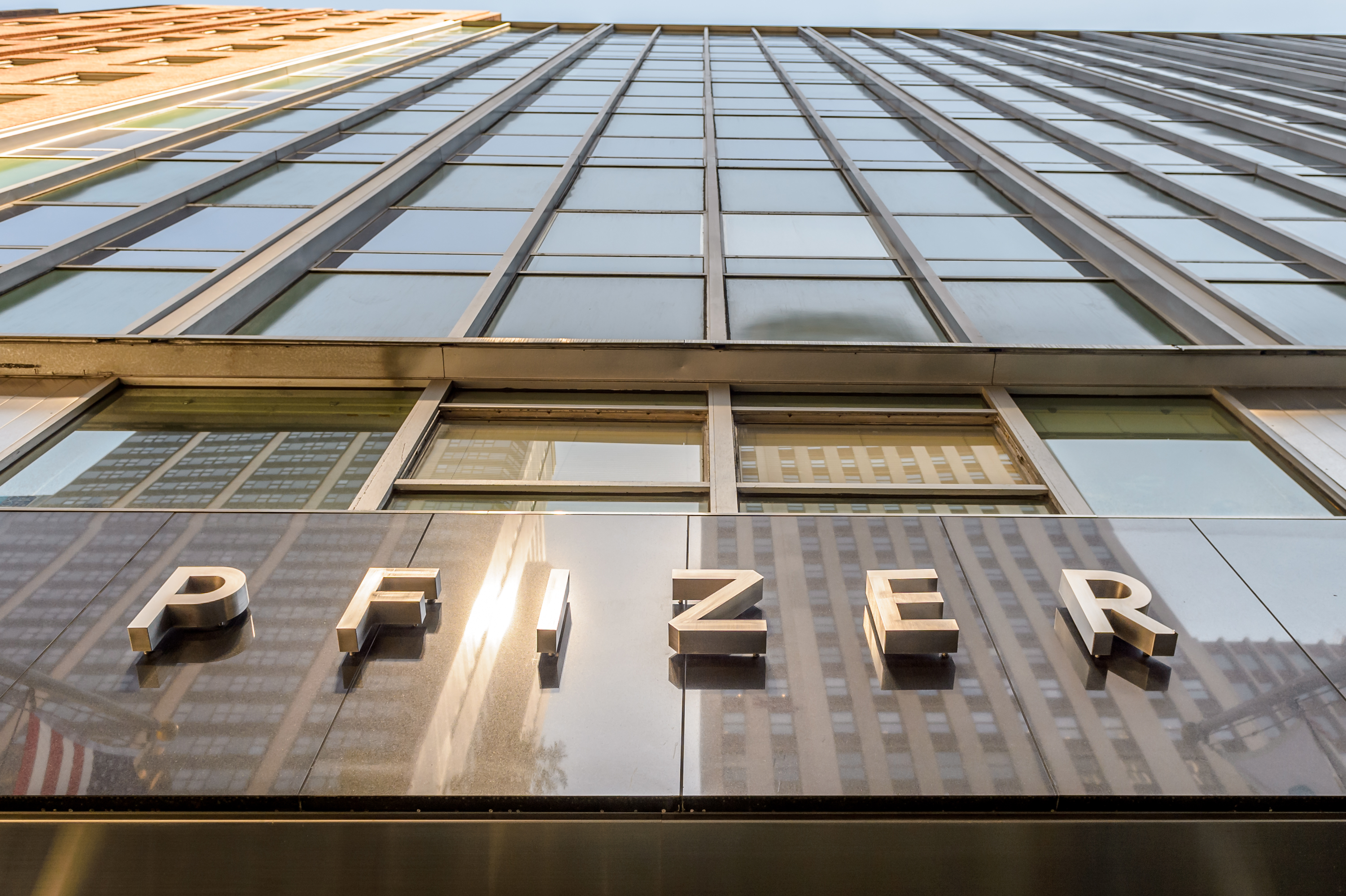 Pfizer New York Headquarters - Pfizer announced a $14