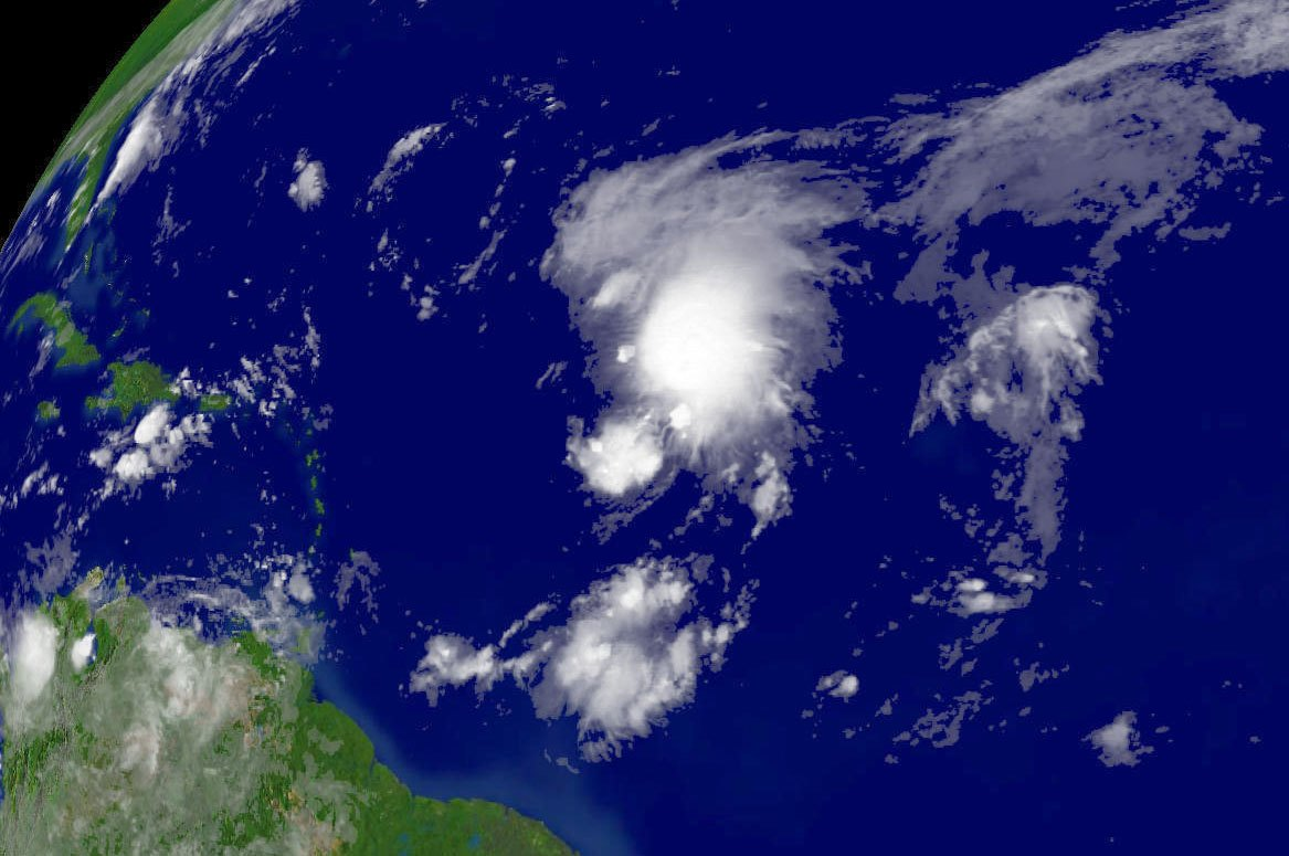 Tropical Storm Florence Heads Over Northern Atlantic