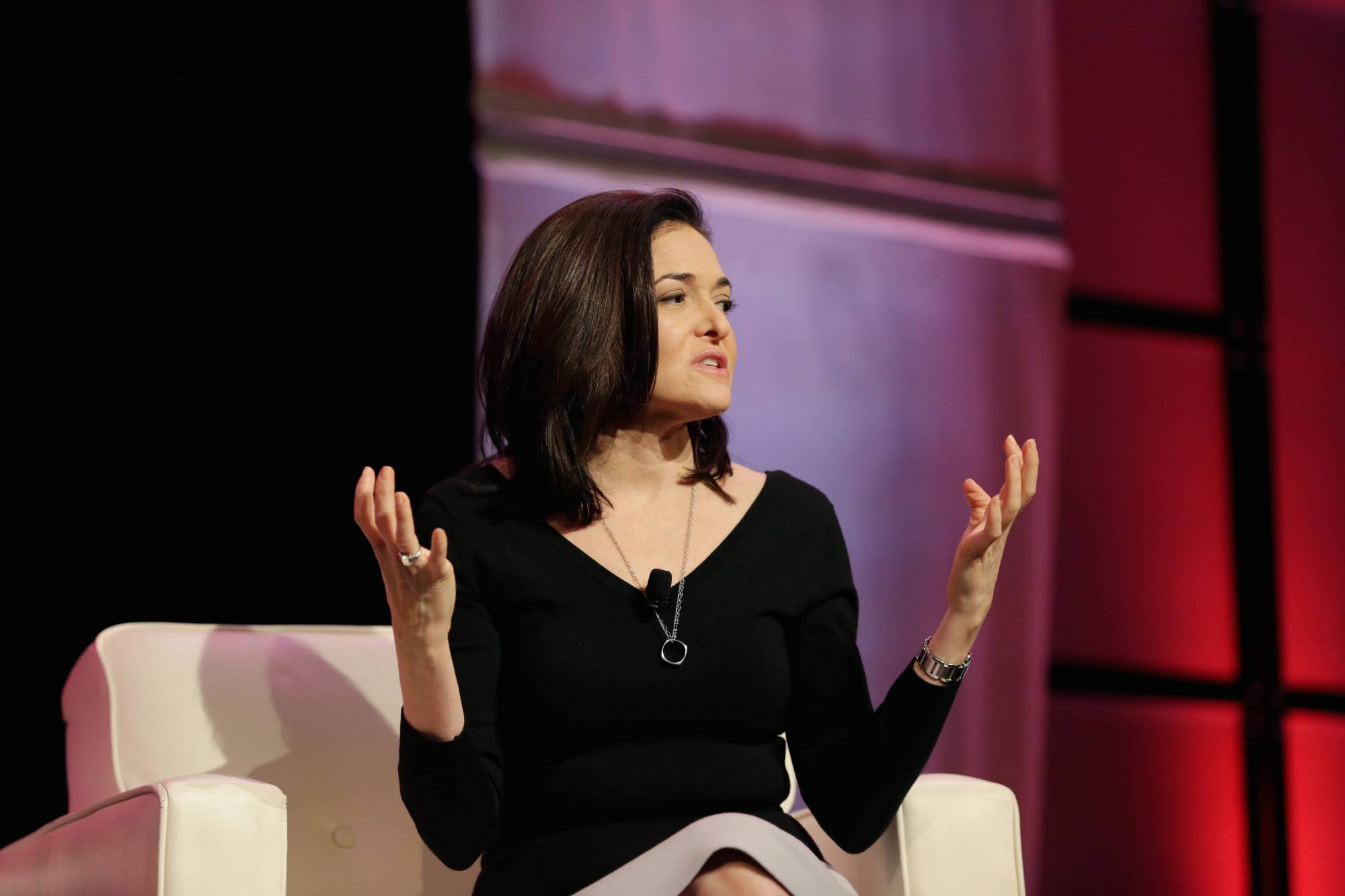 Sheryl sandberg at Texas Conference For Women 2017