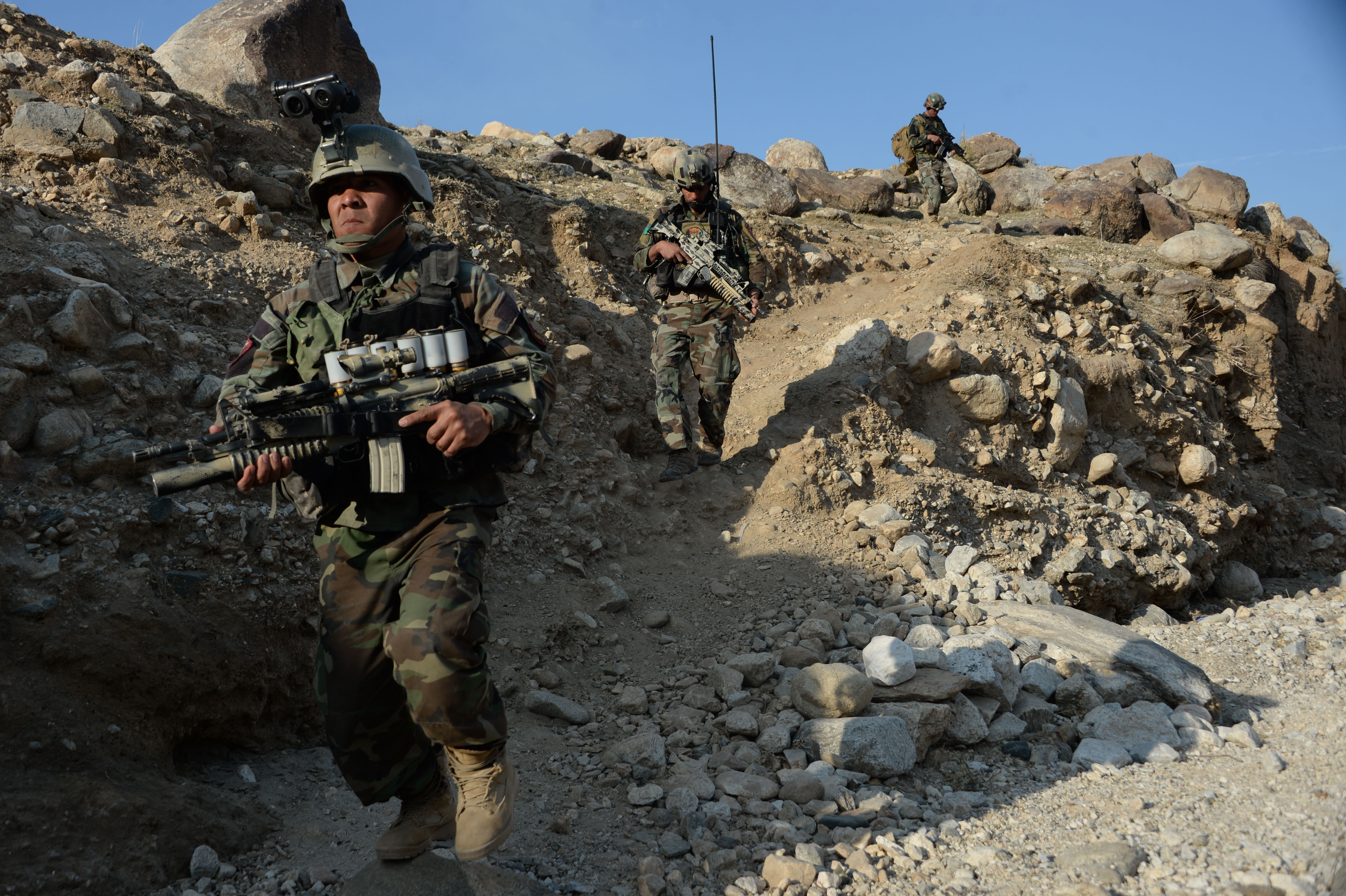 AFGHANISTAN-CONFLICT-US-IS-MILITARY