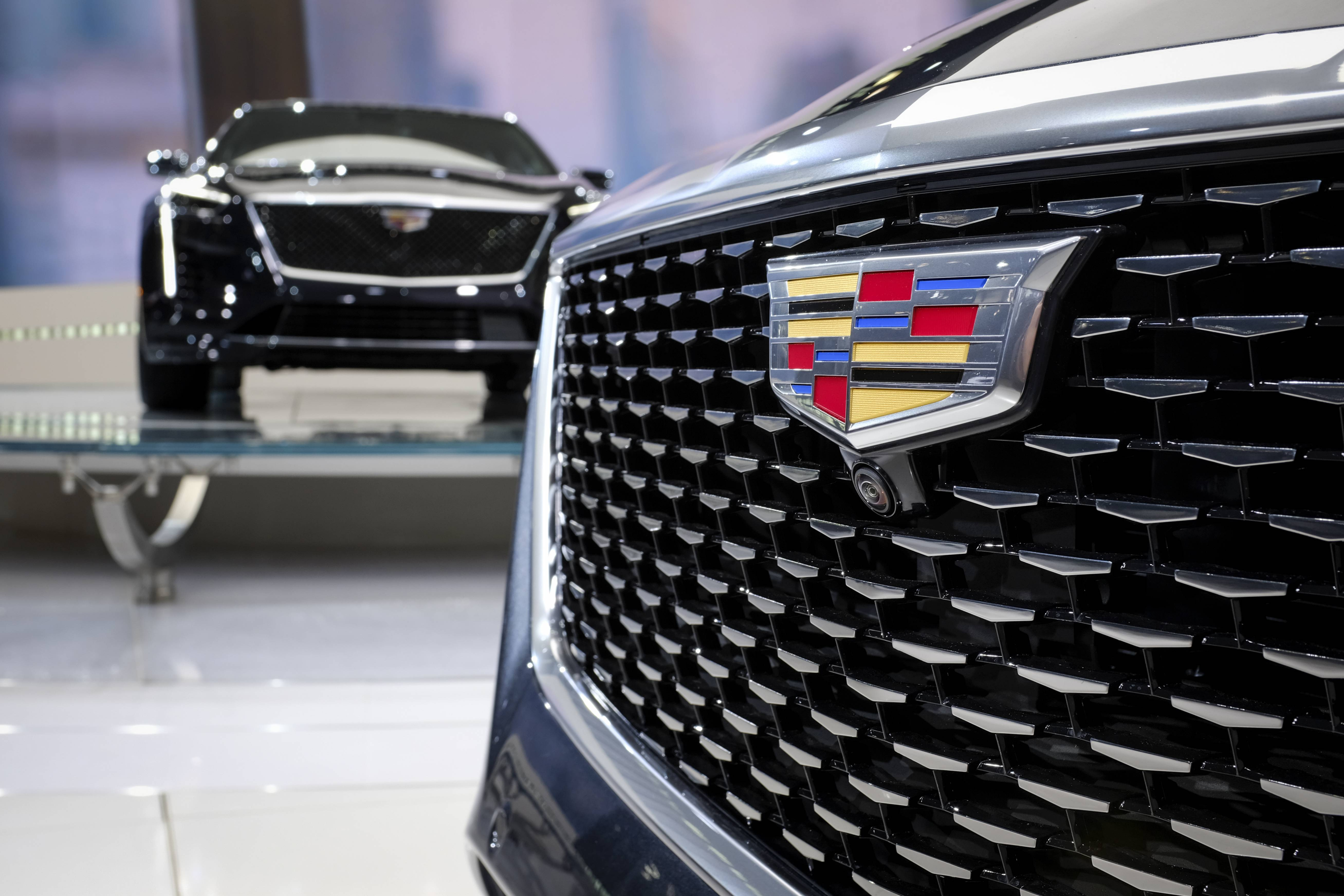After four years in New York, Cadillac's U.S. sales are in decline. (Photo by Drew Angerer/Getty Images)