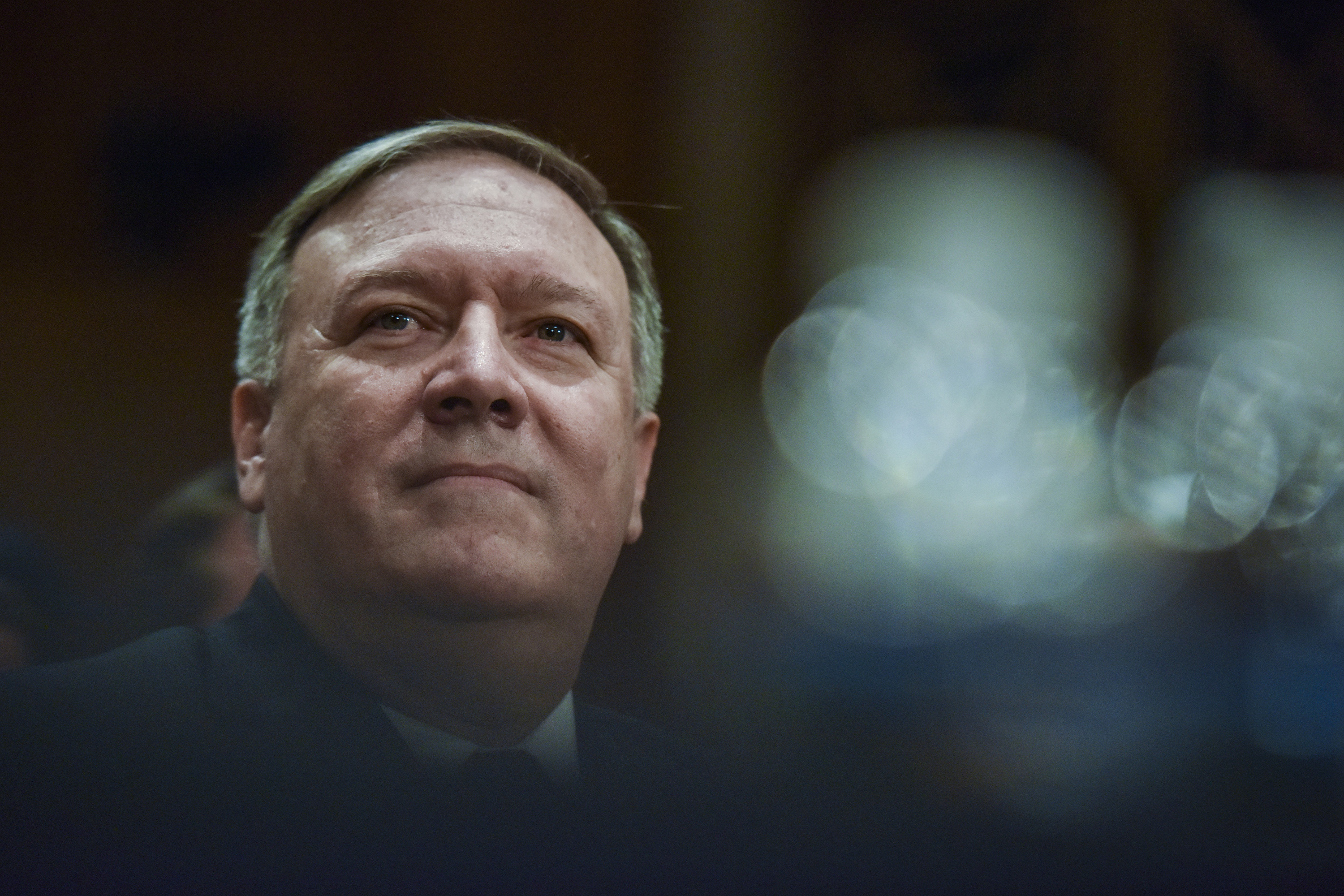 Mike Pompeo, Nomination Hearings As Secretary of State