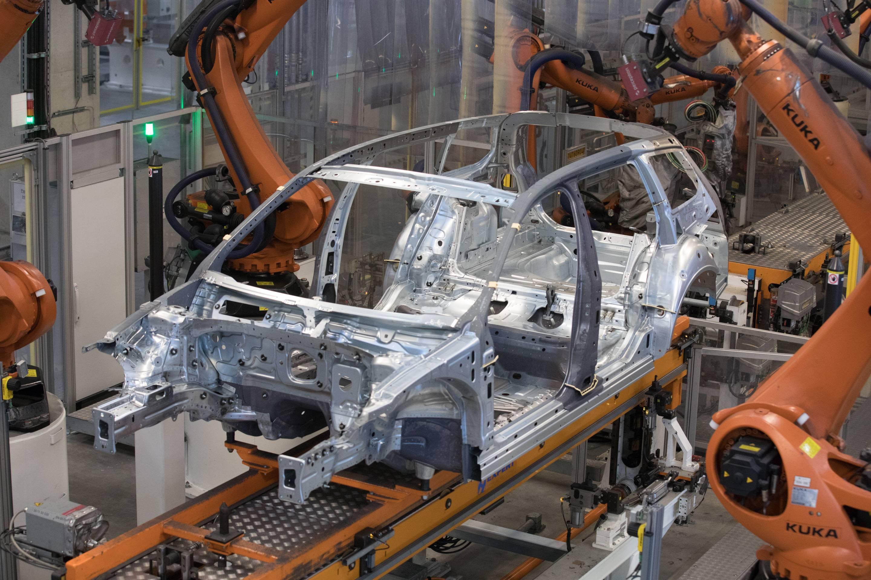 Volkswagen manufacturing plant in Emden