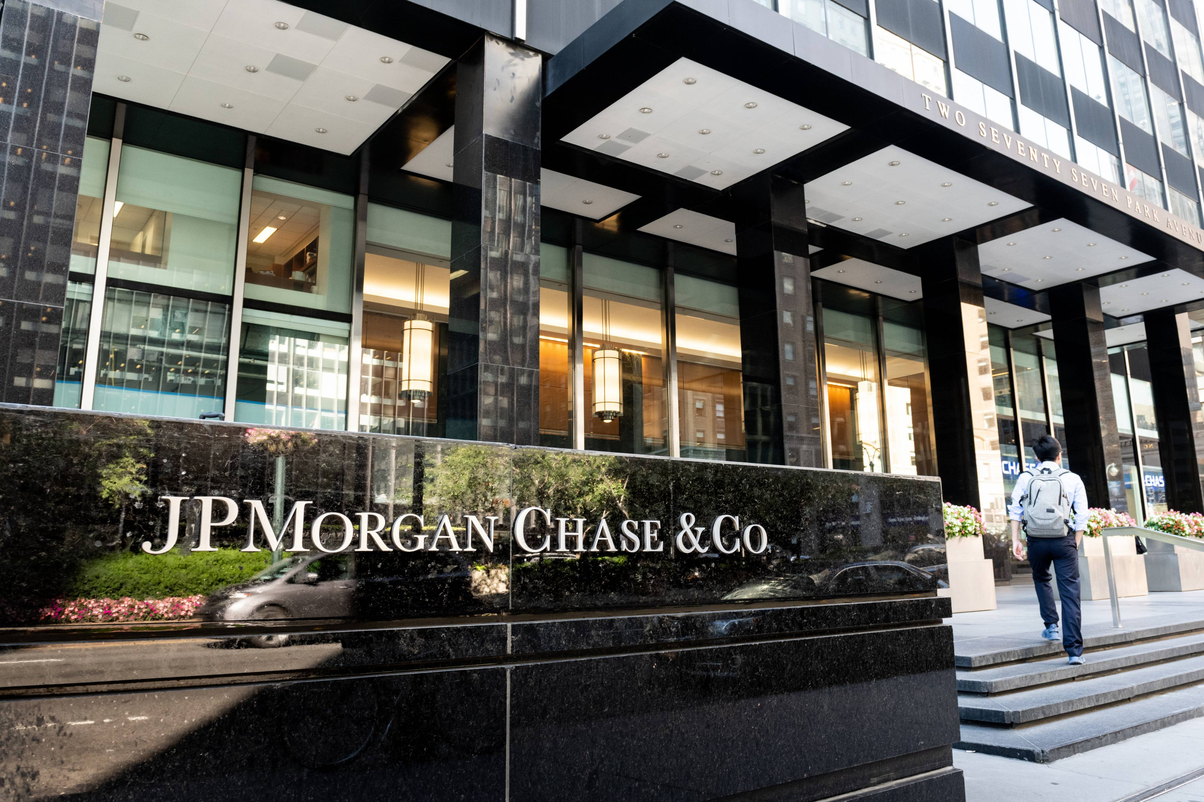 JPMorgan Chase & Co. building on Park Avenue in New York