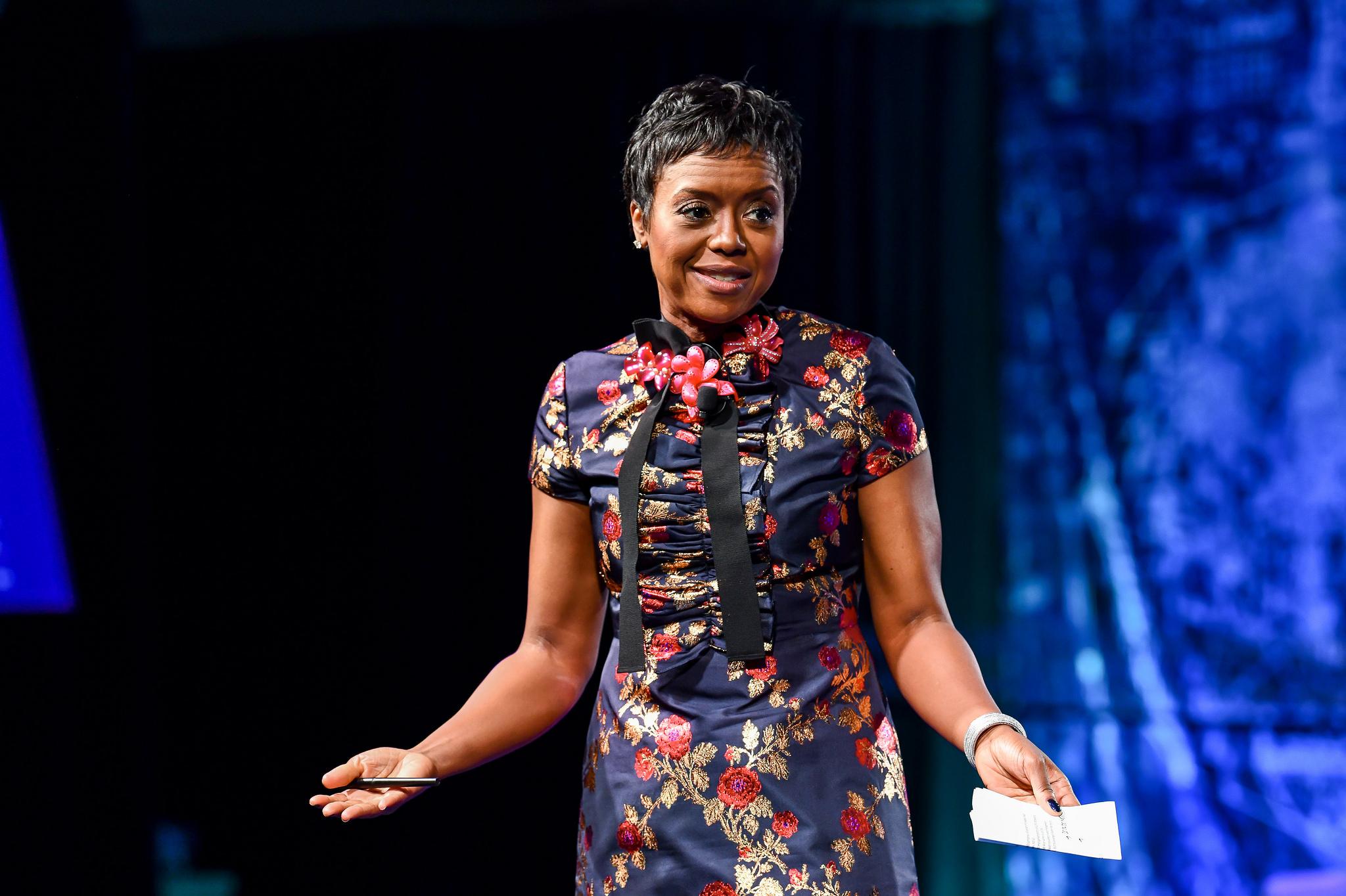 Mellody Hobson on stage at Fortune's Brainstorm Reinvent