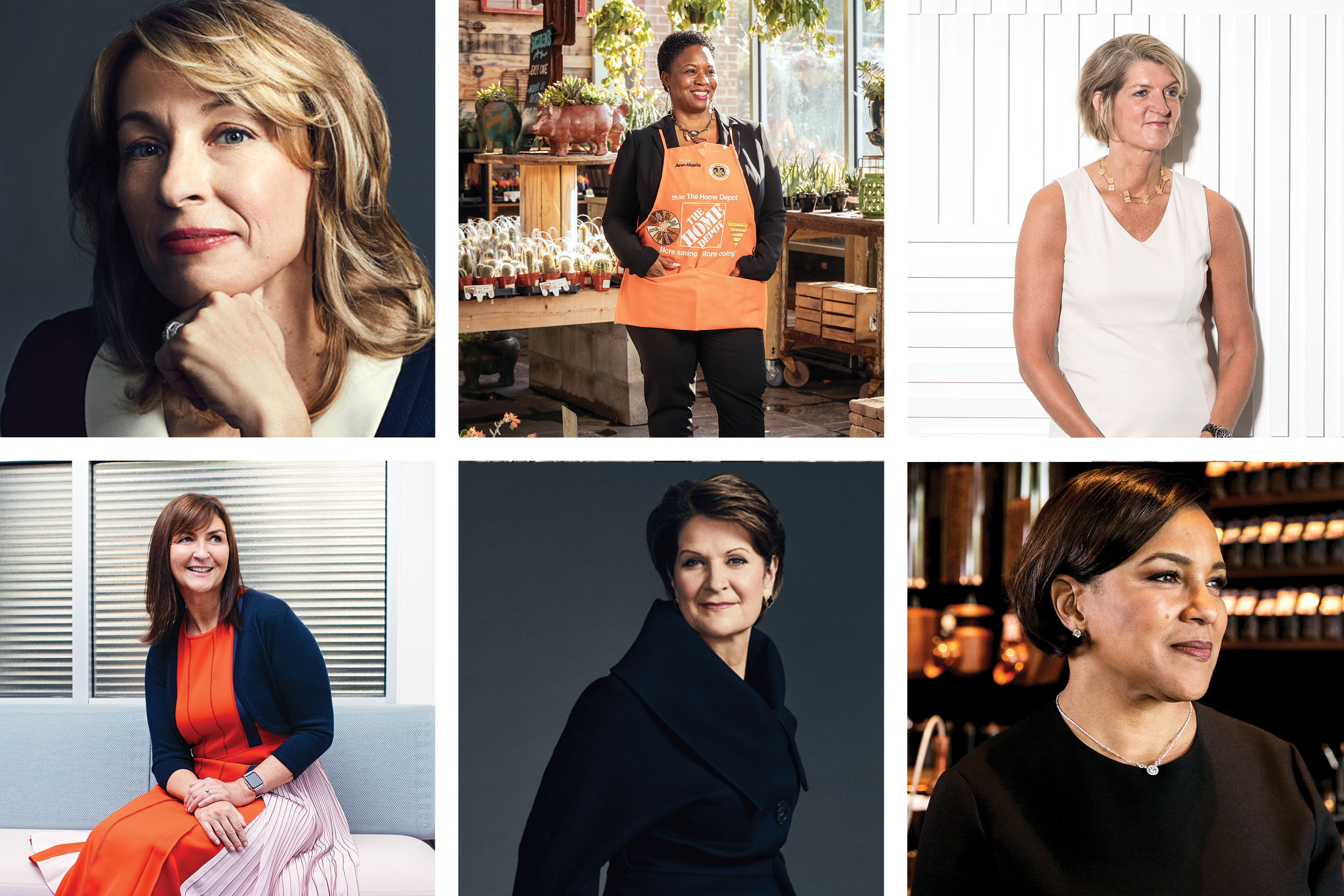 A few of the Most Powerful Women photographed by women photographers.