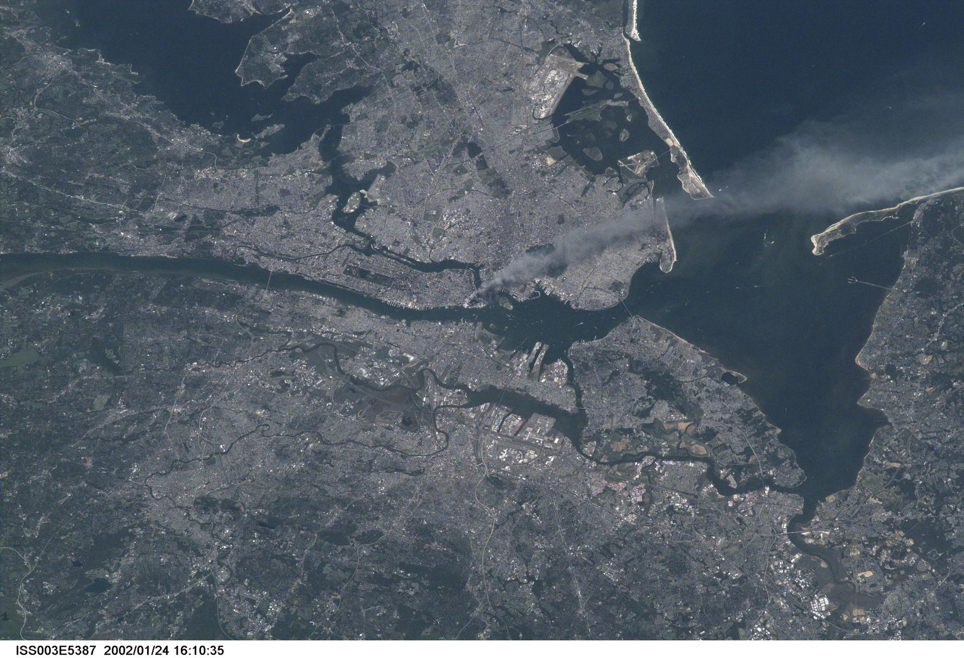 NASA September 11 from space