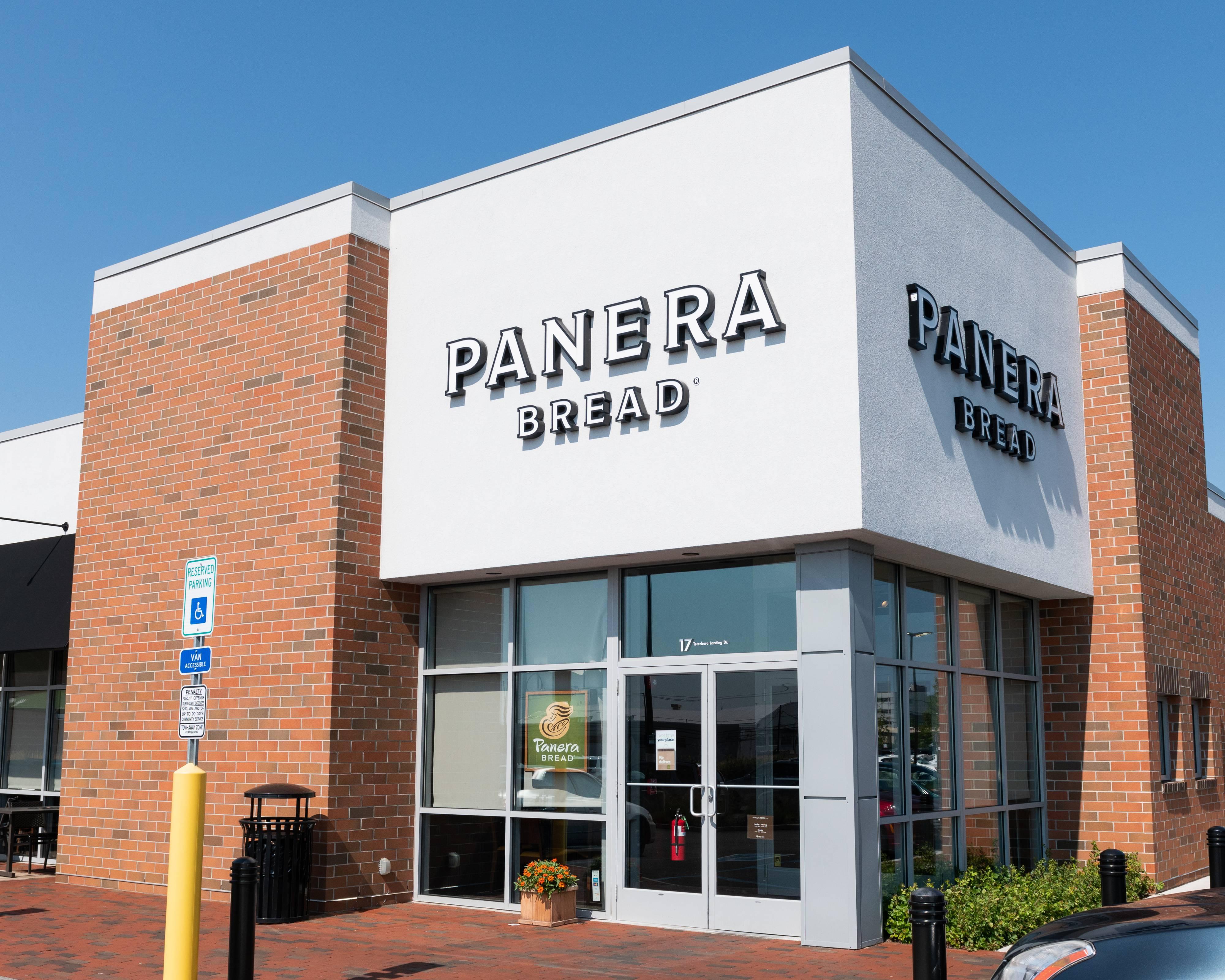 Panera Bread store in Teterboro, N.J.
