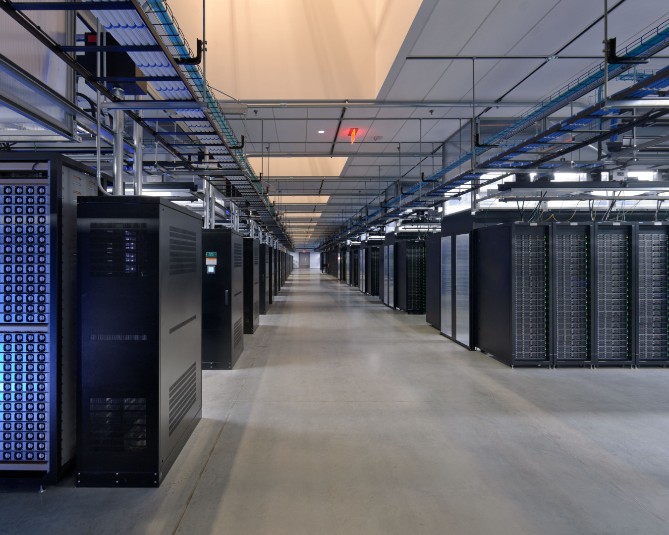 Facebook's Prineville Data Center. Photo via Facebook.