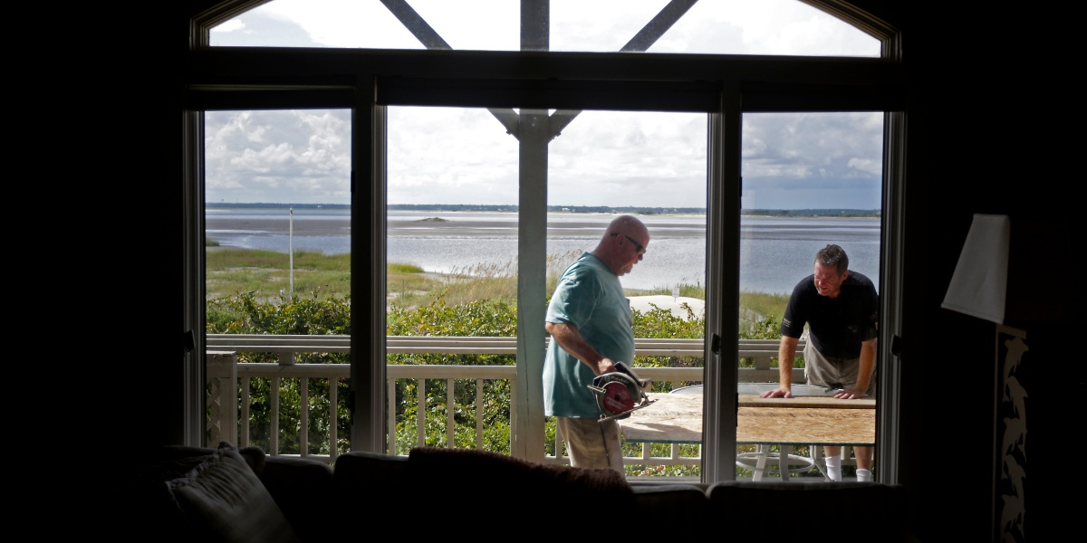 PHOTOS: See How East Coasters Are Preparing for Hurricane Florence