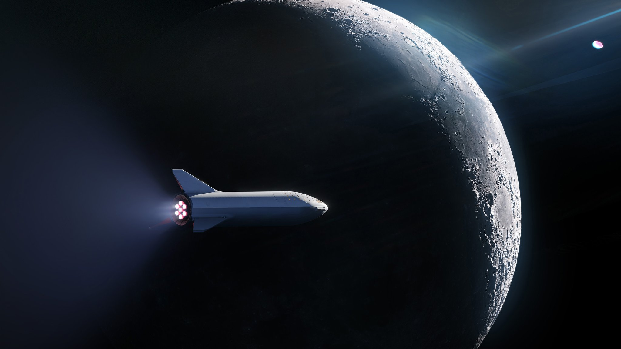spacex bfr space tourism