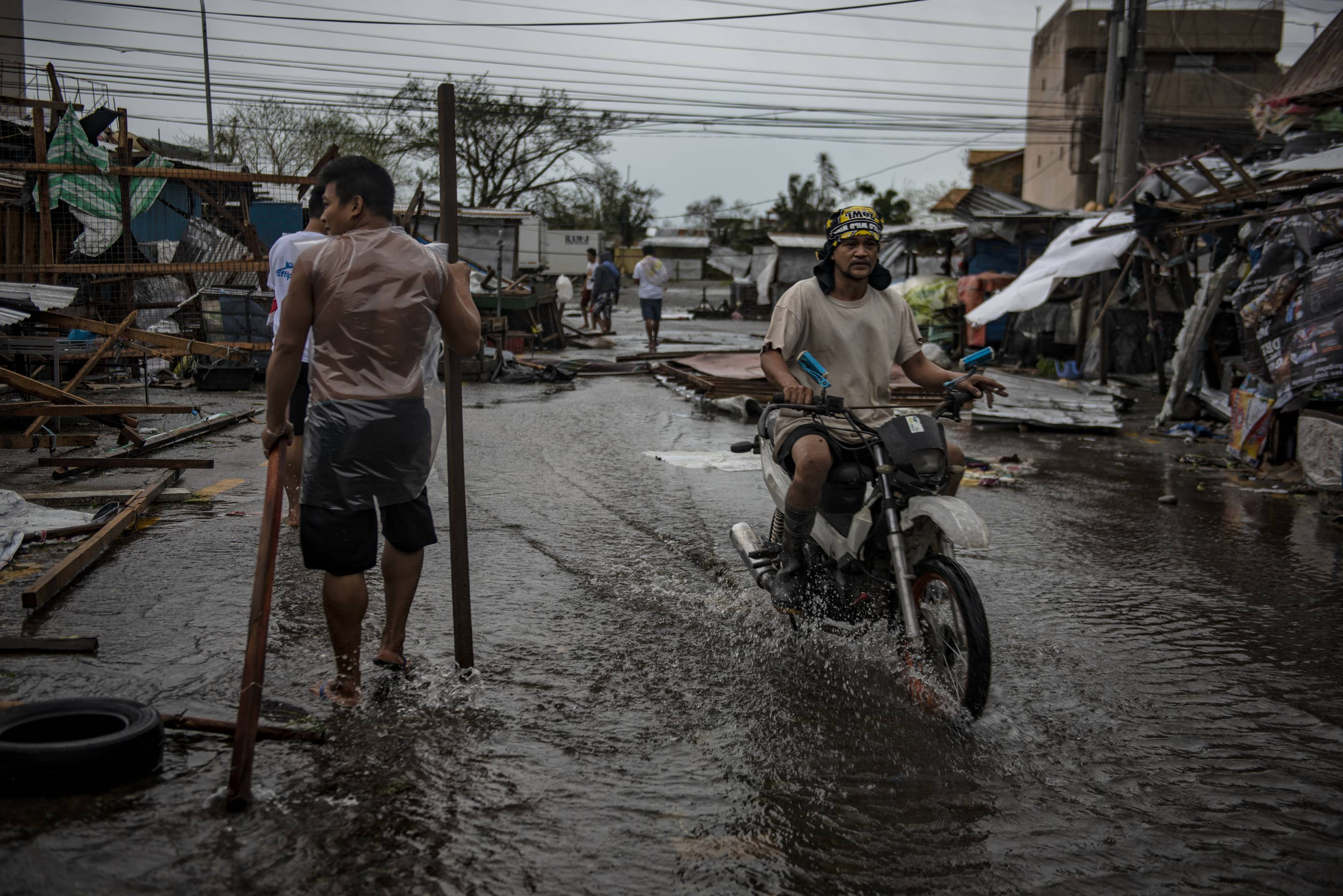 Super Typhoon Mangkhut Batters the Philippines as it Makes Landfall