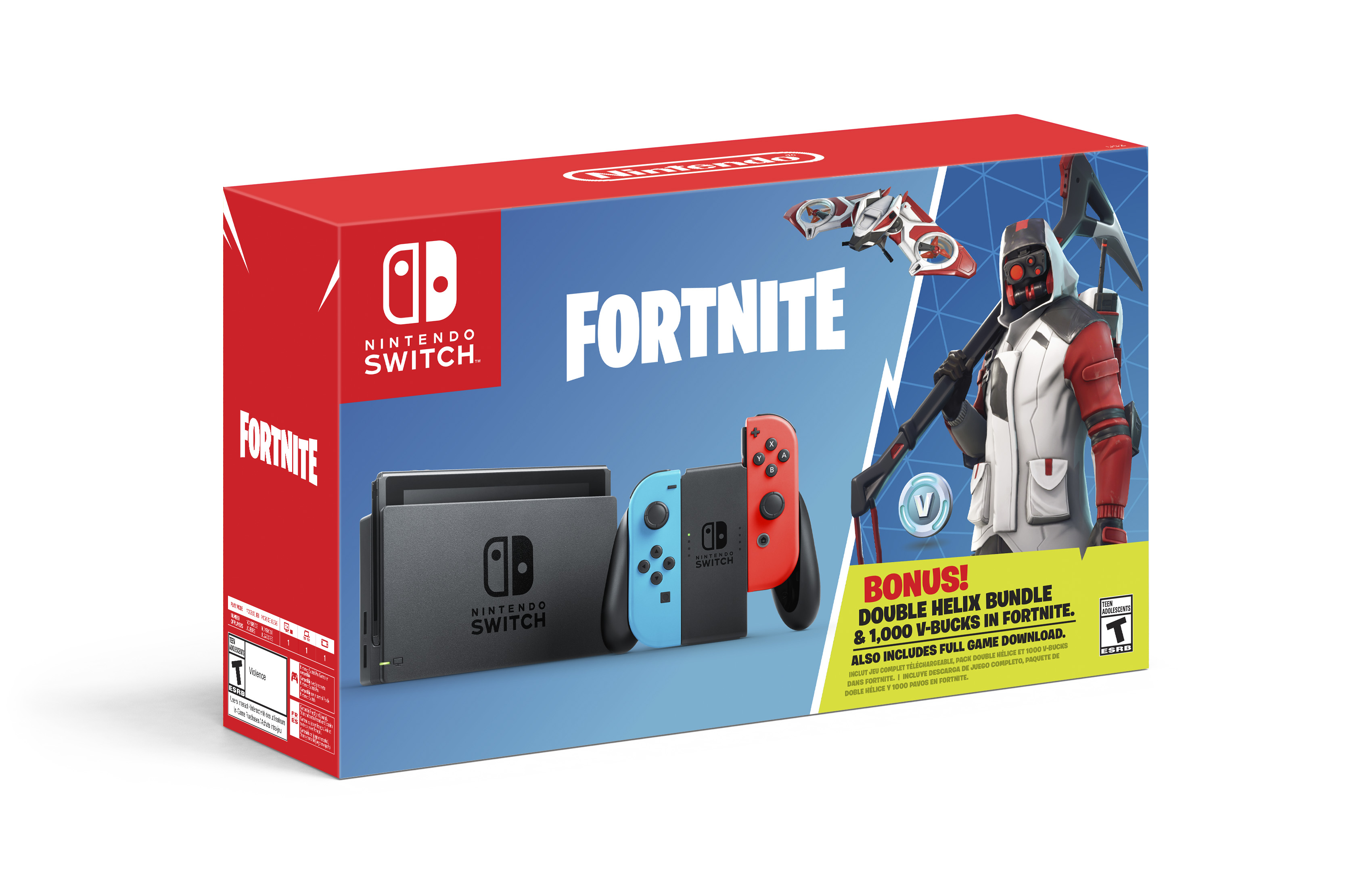 Nintendo Unveils Fortnite-themed Switch Bundle | Fortune