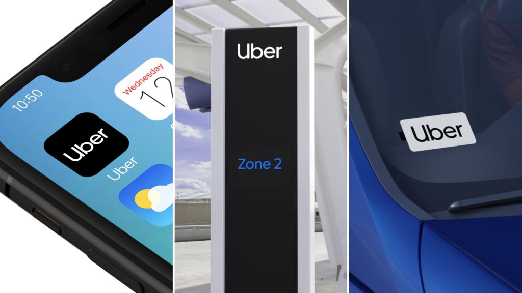 new uber logo branding, Wolff Olins